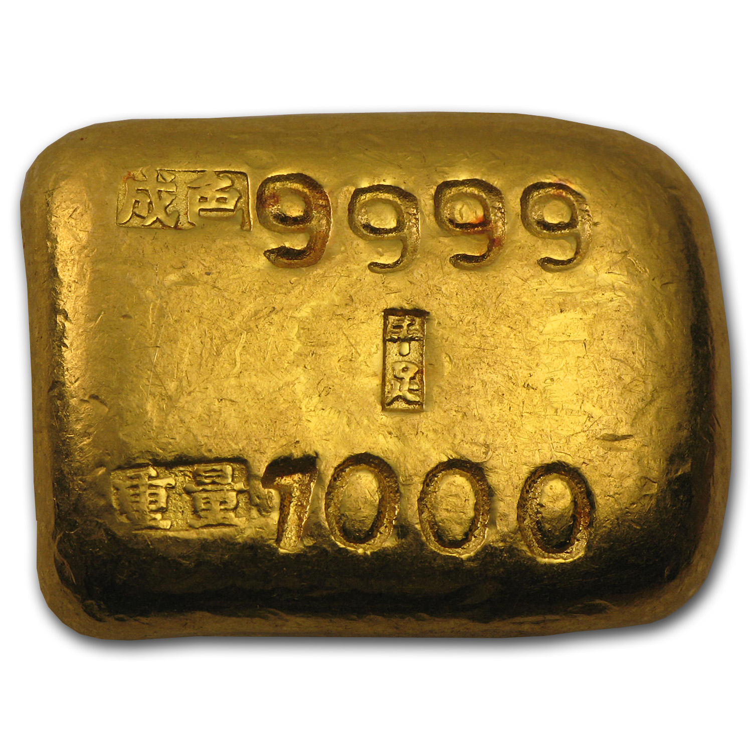 1 Tael Gold Bar - Chinese Biscuit (1.206 oz)