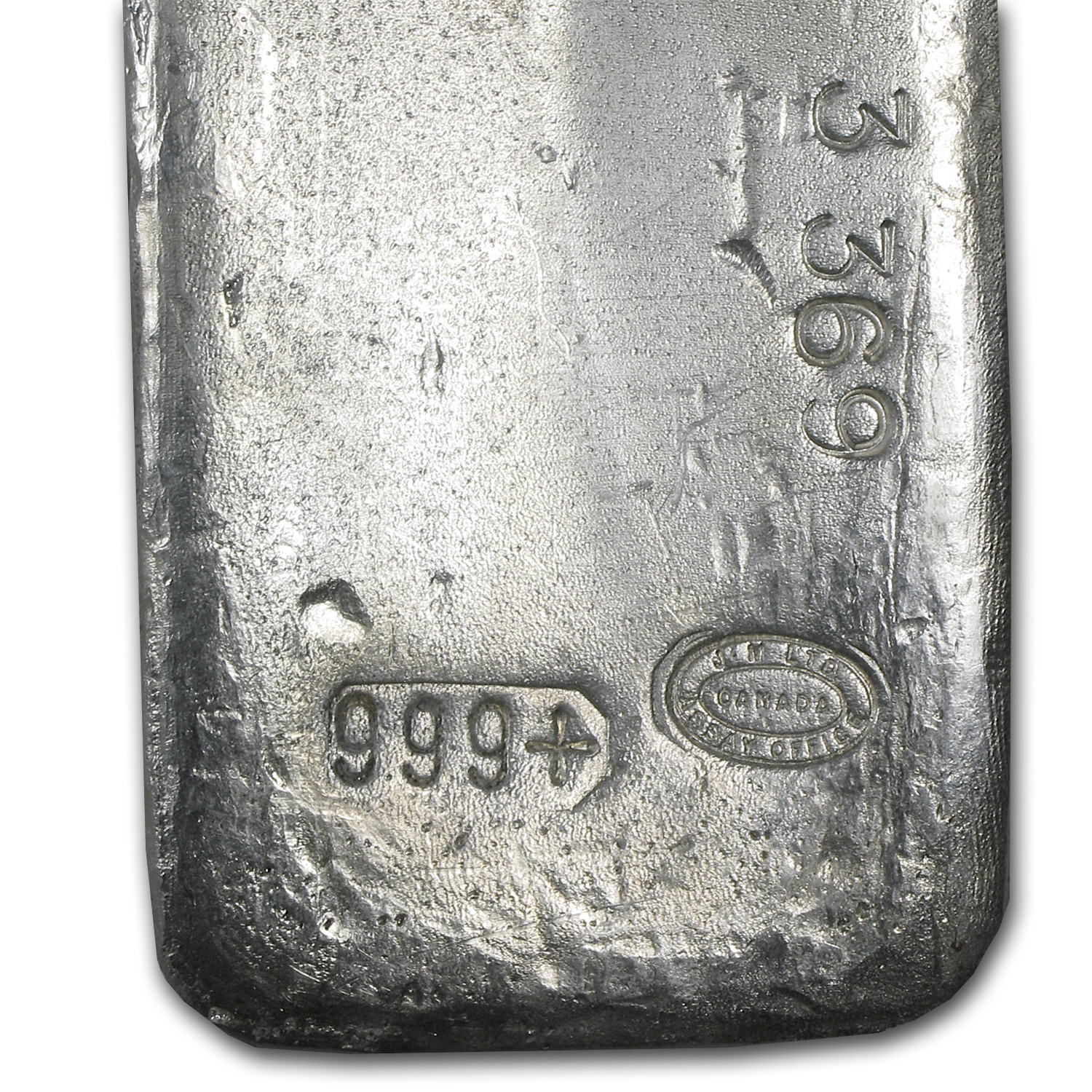 100 oz Silver Bar - Johnson Matthey (Vintage/Canada)