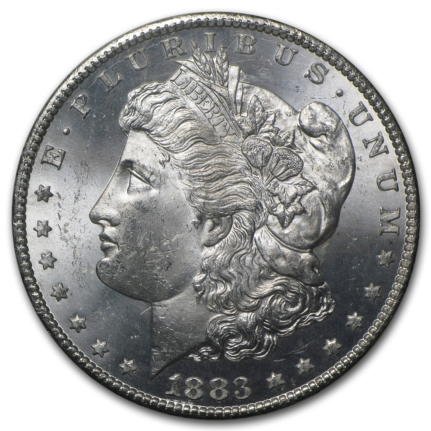 1883-CC Morgan Dollar MS-63 PCGS (GSA Certified)