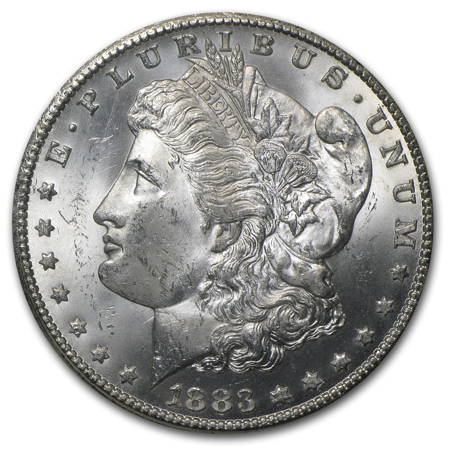 1883-CC Morgan Dollar MS-64 PCGS - GSA Certified