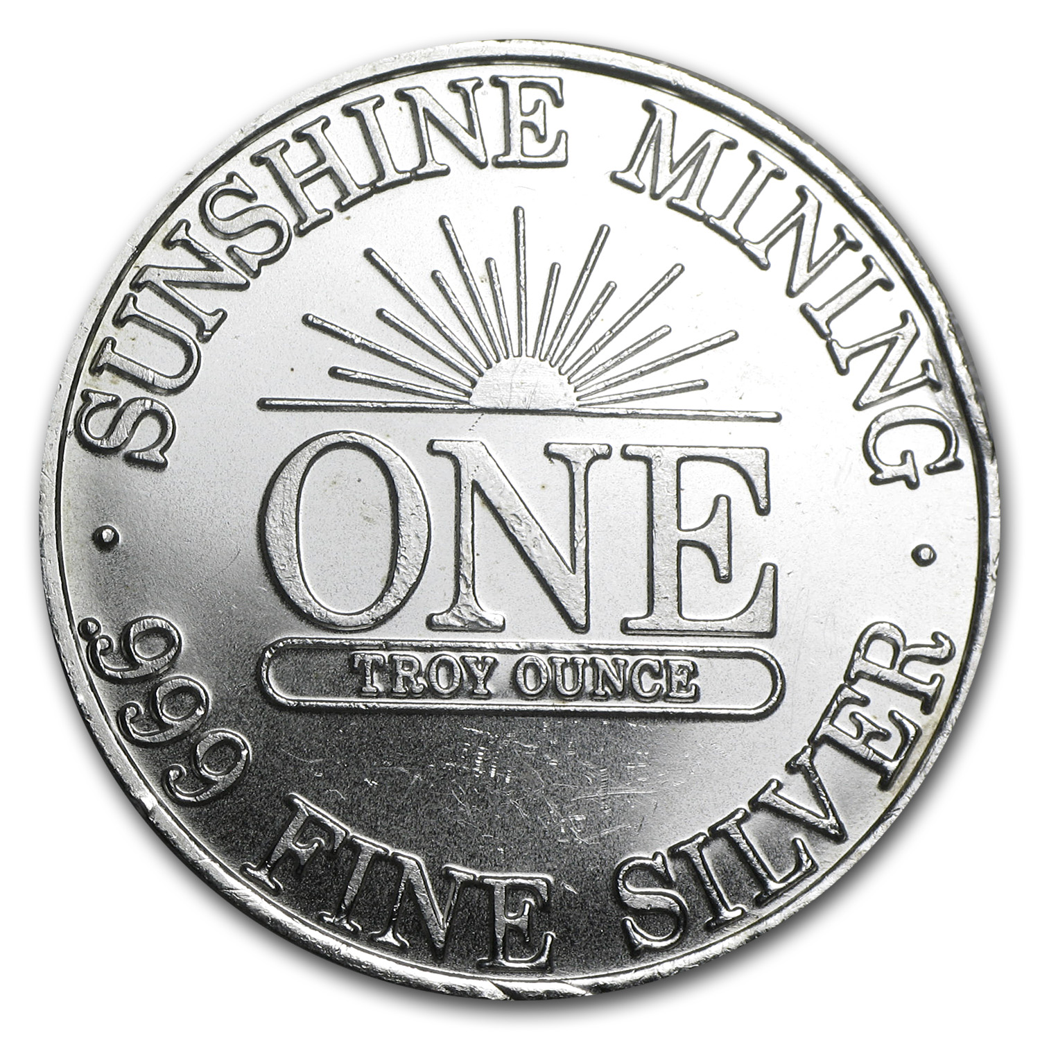 1 oz Silver Rounds - Sunshine Mining