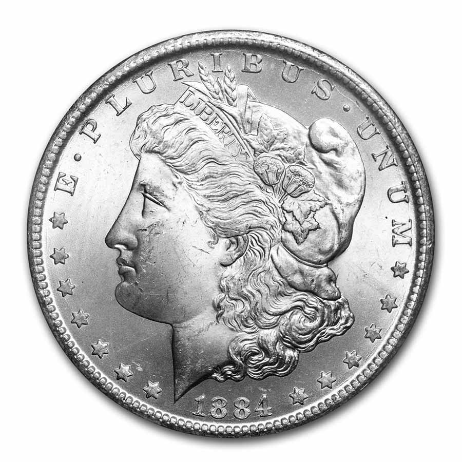 1883-CC Morgan Dollar MS-65 PCGS (GSA Certified)
