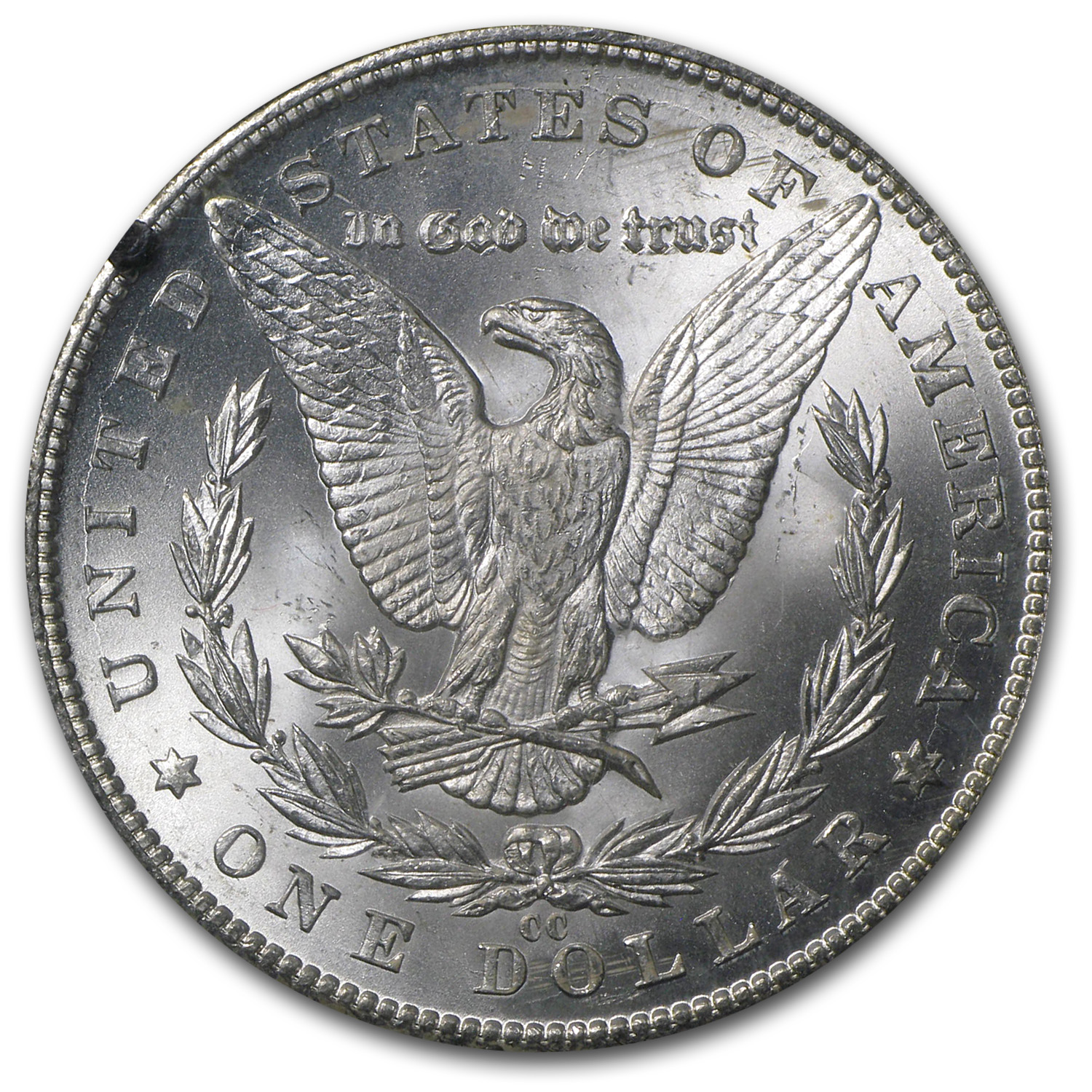 1882-1884-CC Morgan Dollar MS-64 PCGS (GSA Holder)