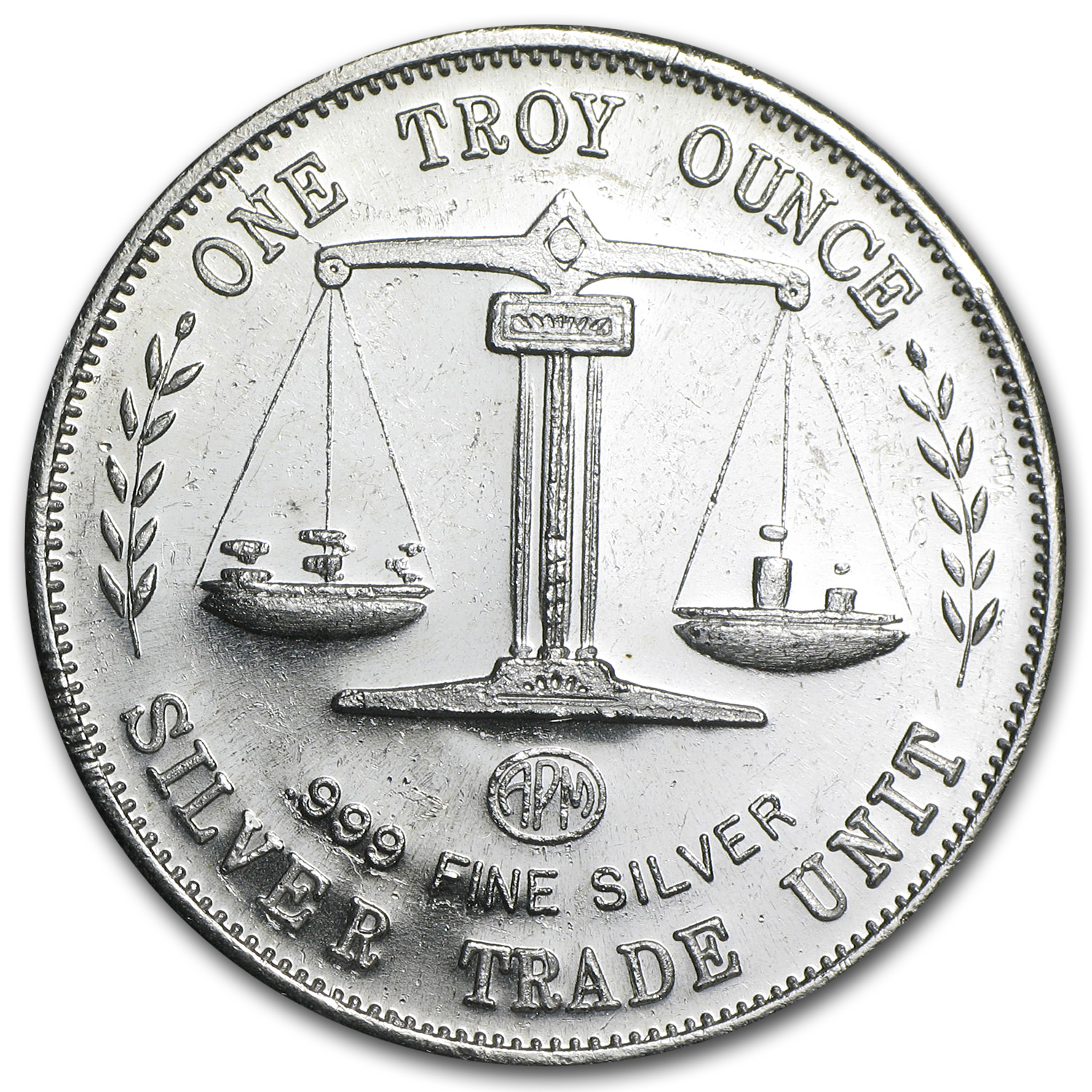 1 oz Silver Rounds - APM (Trade Unit)