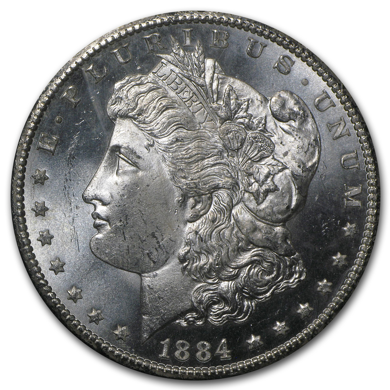 1884-CC Morgan Dollar MS-65 PCGS (GSA)