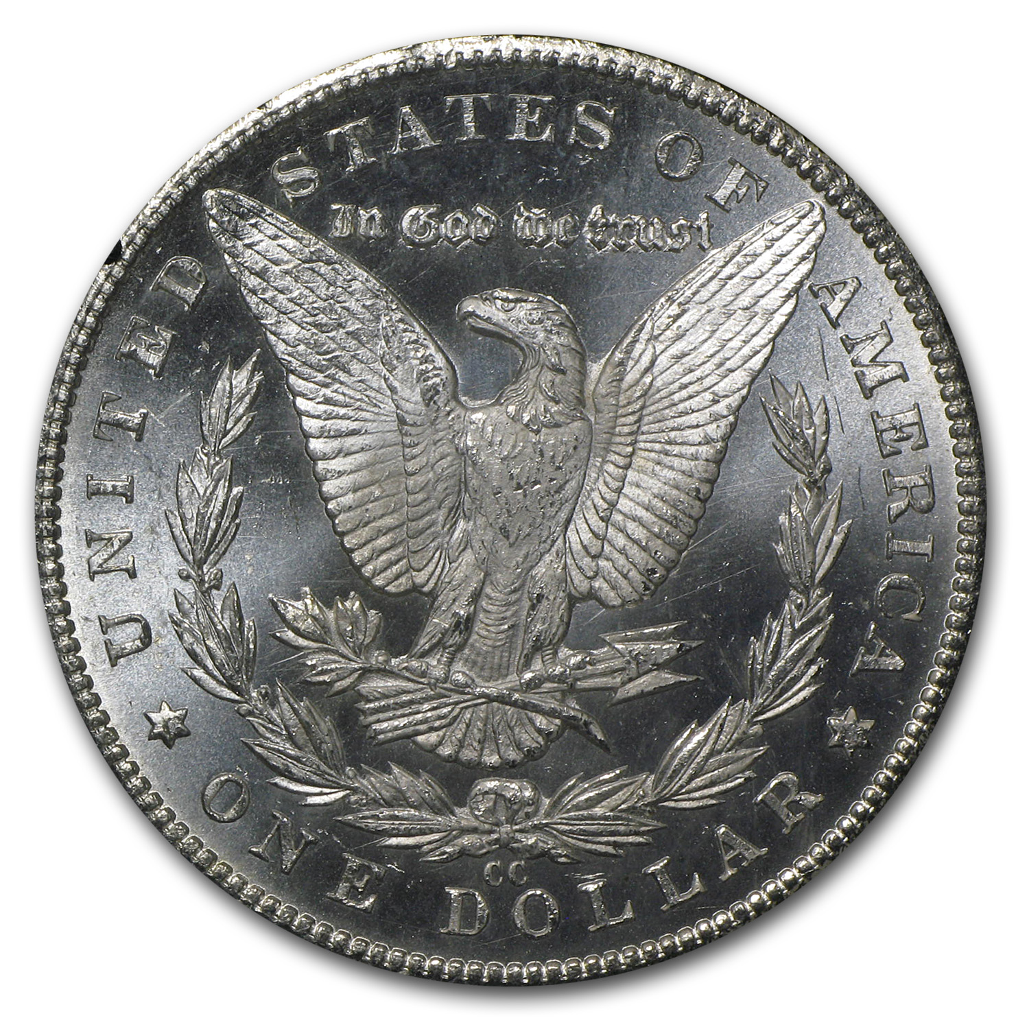 1884-CC Morgan Dollar MS-65 PCGS - GSA Certified