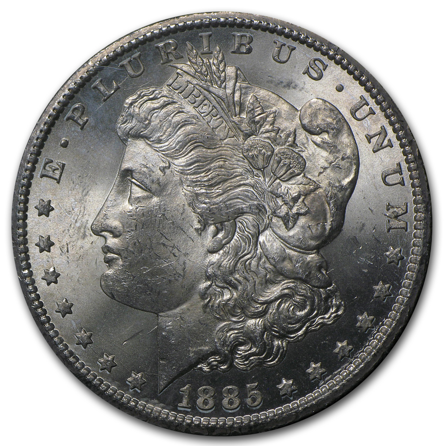 1885-CC Morgan Dollar MS-63 PCGS (GSA)