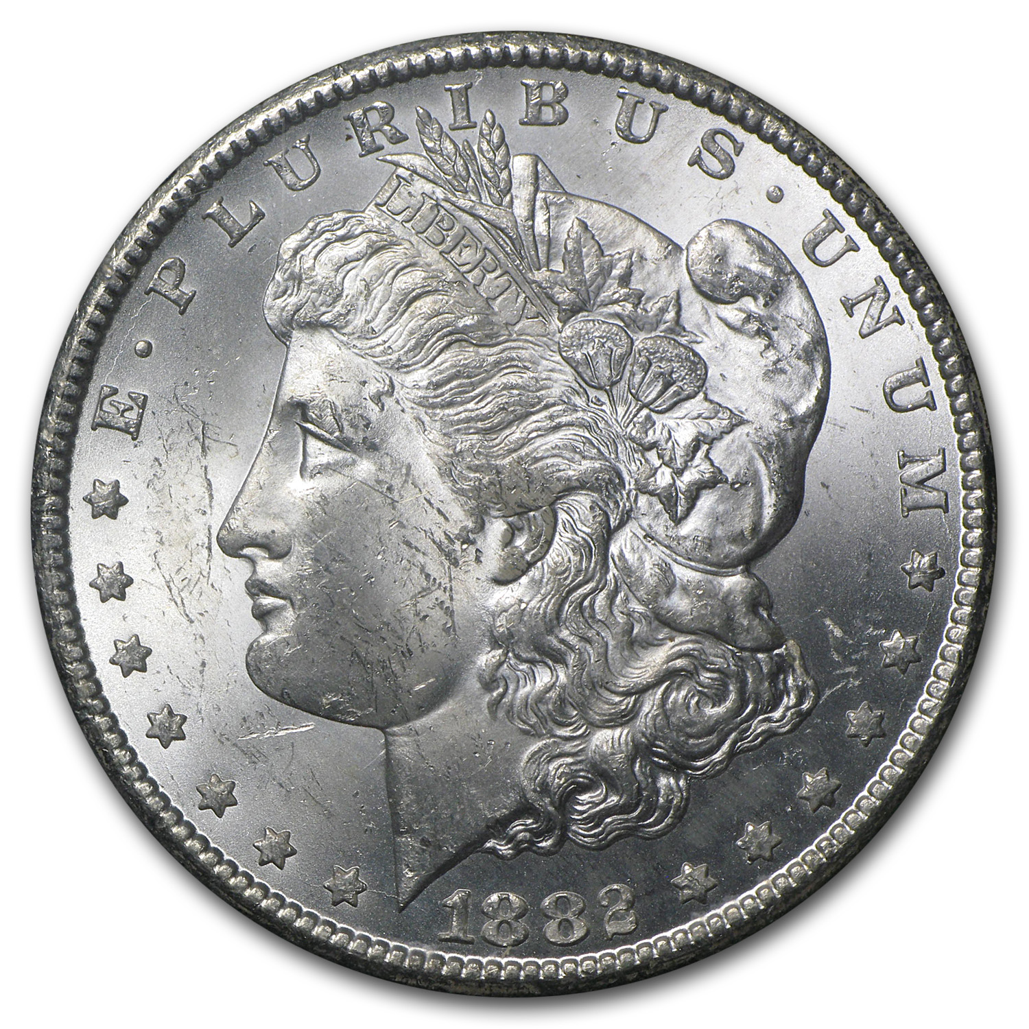 1882-CC Morgan Dollar MS-63 PCGS (GSA Certified)