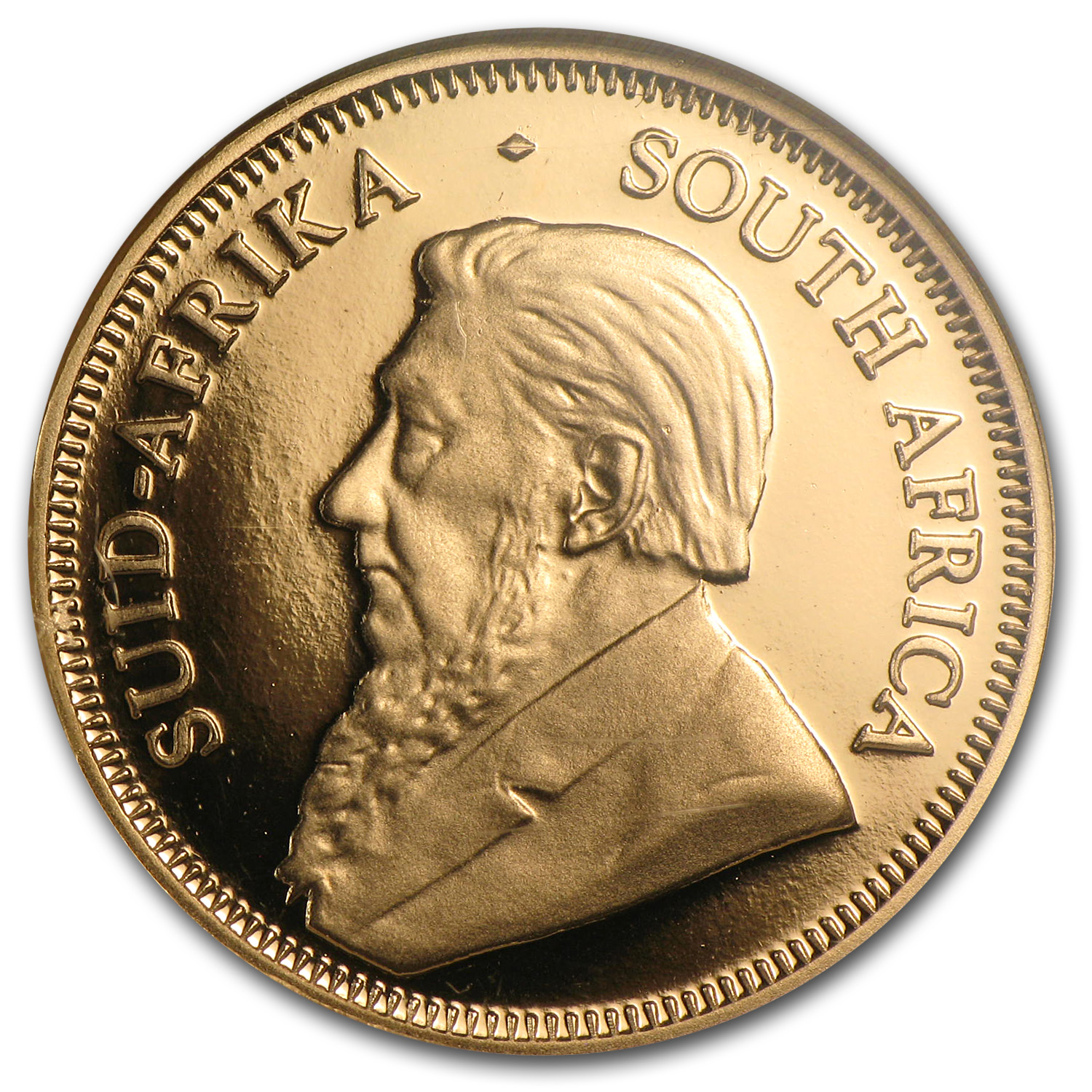 2007 1/4 oz Gold South African Krugerrand PF-70 NGC