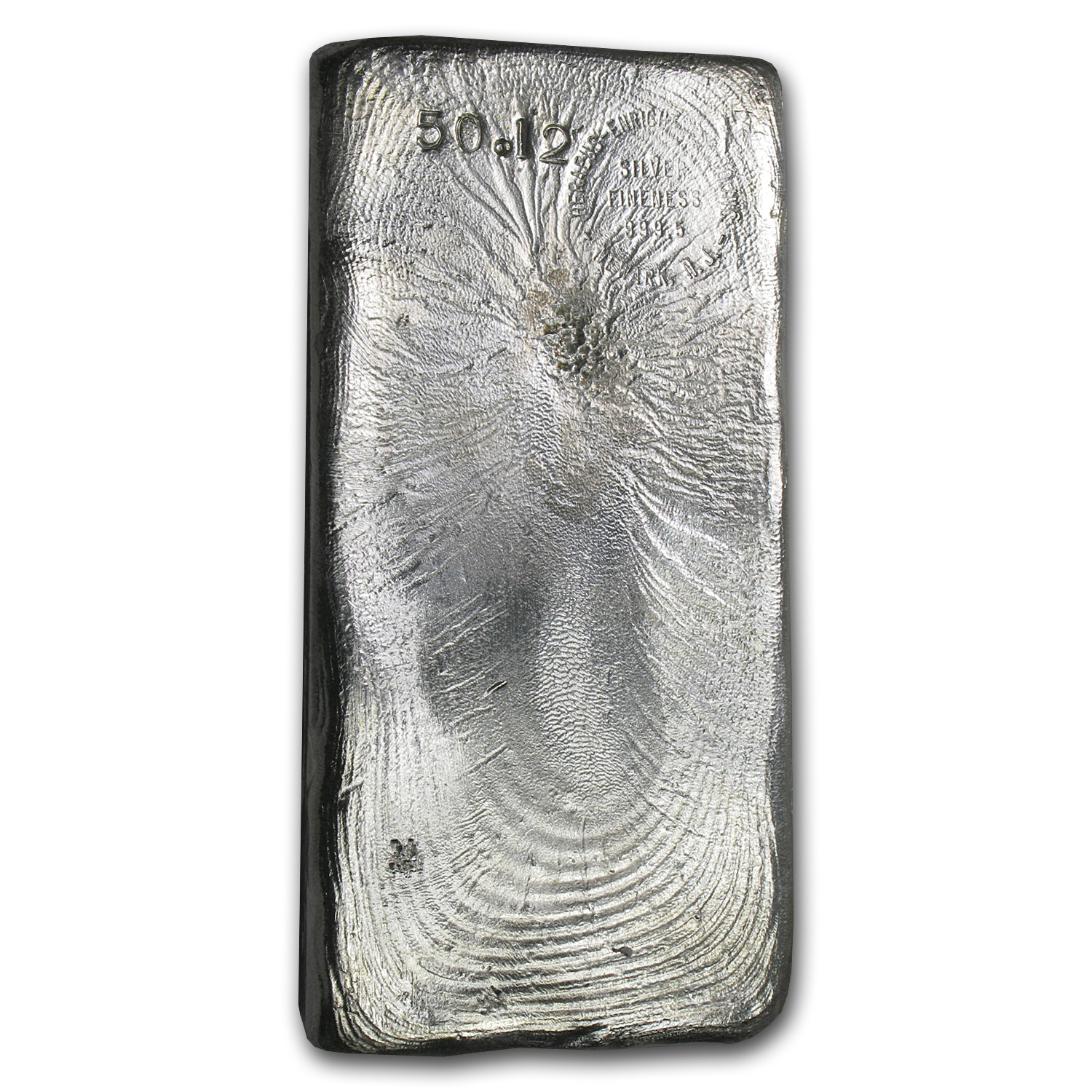 50.12 oz Silver Bars - Heraeus (Poured)