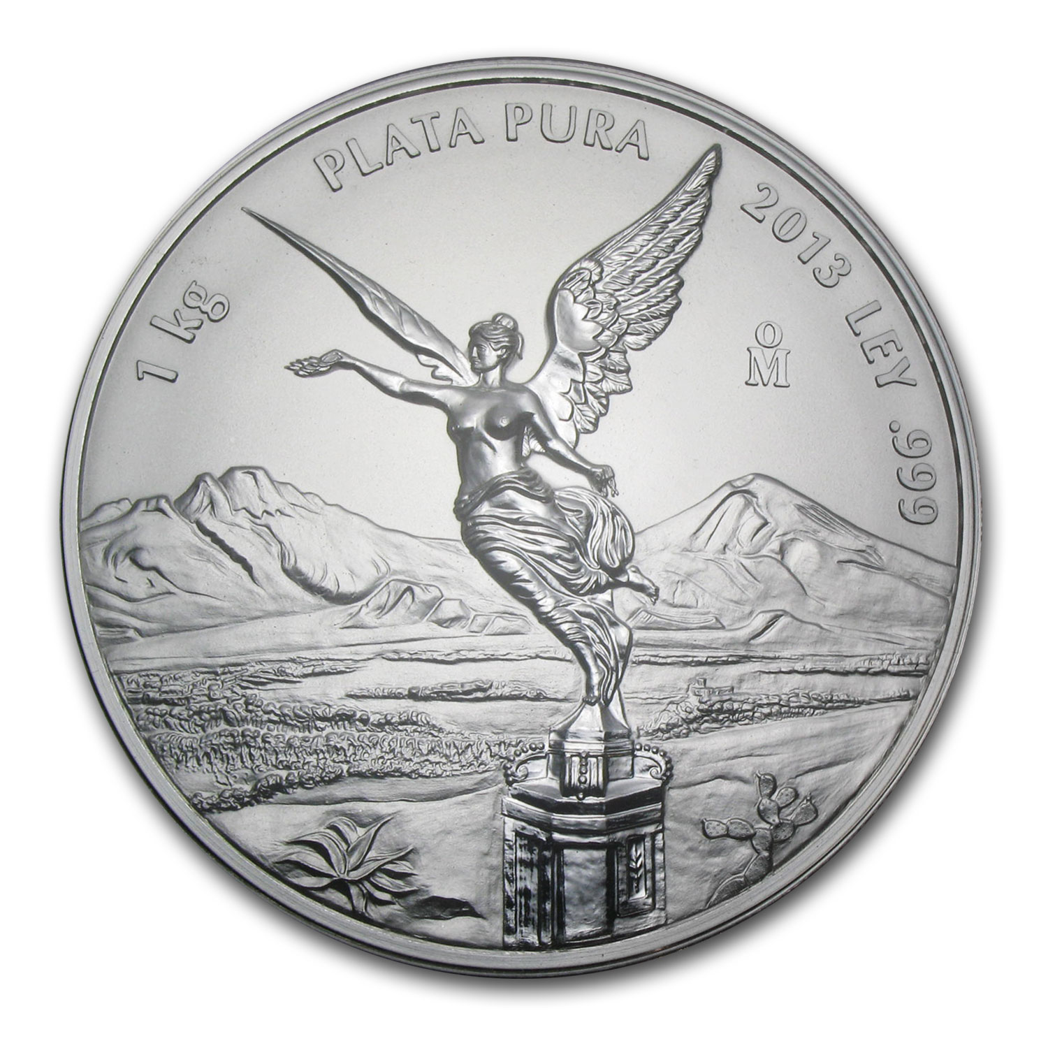 2013 Mexico 1 kilo Silver Libertad Proof Like (w/Box & COA)