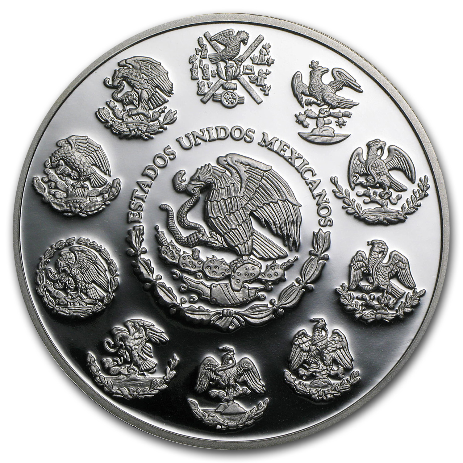 2013 Mexico 2 oz Silver Libertad Proof (In Capsule)