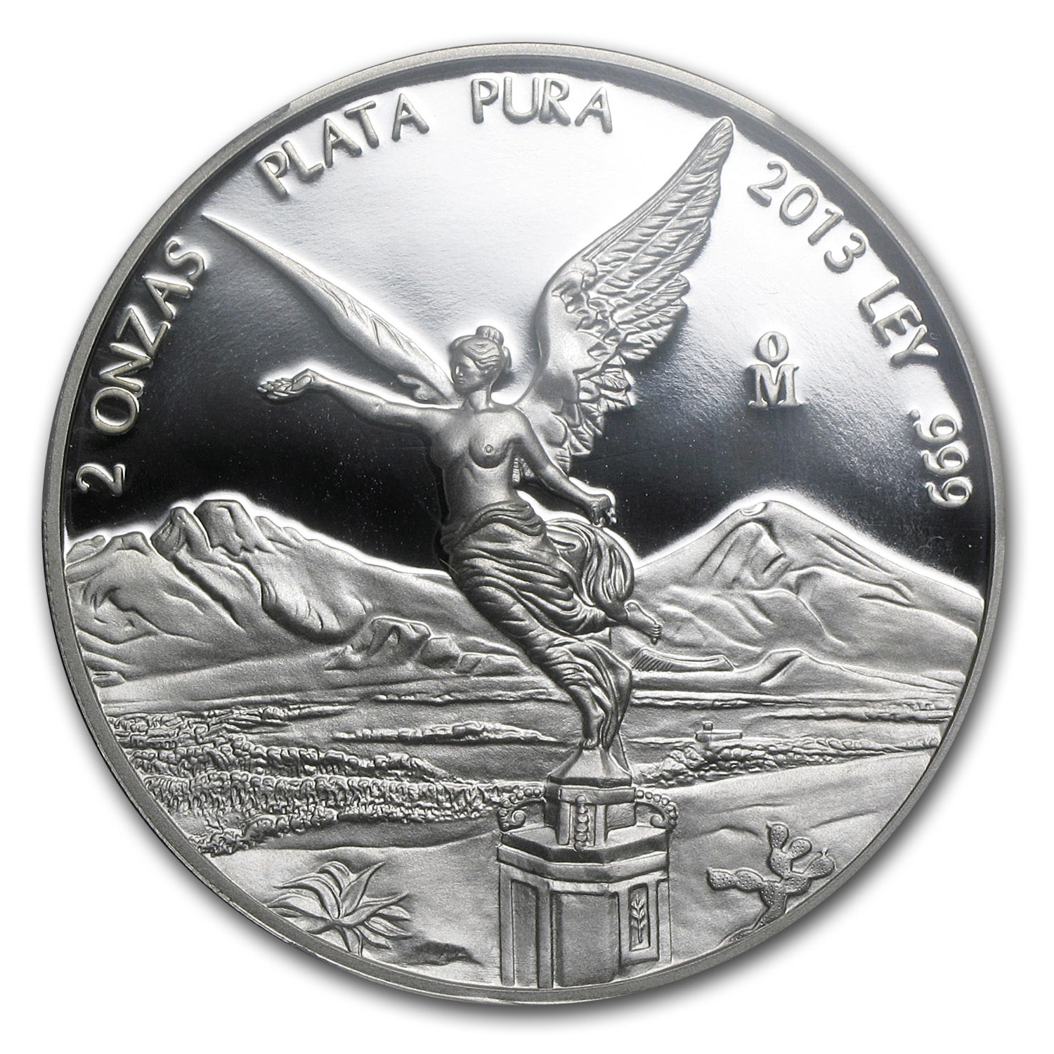 2013 Mexico 2 oz Proof Silver Libertad PR-69 PCGS
