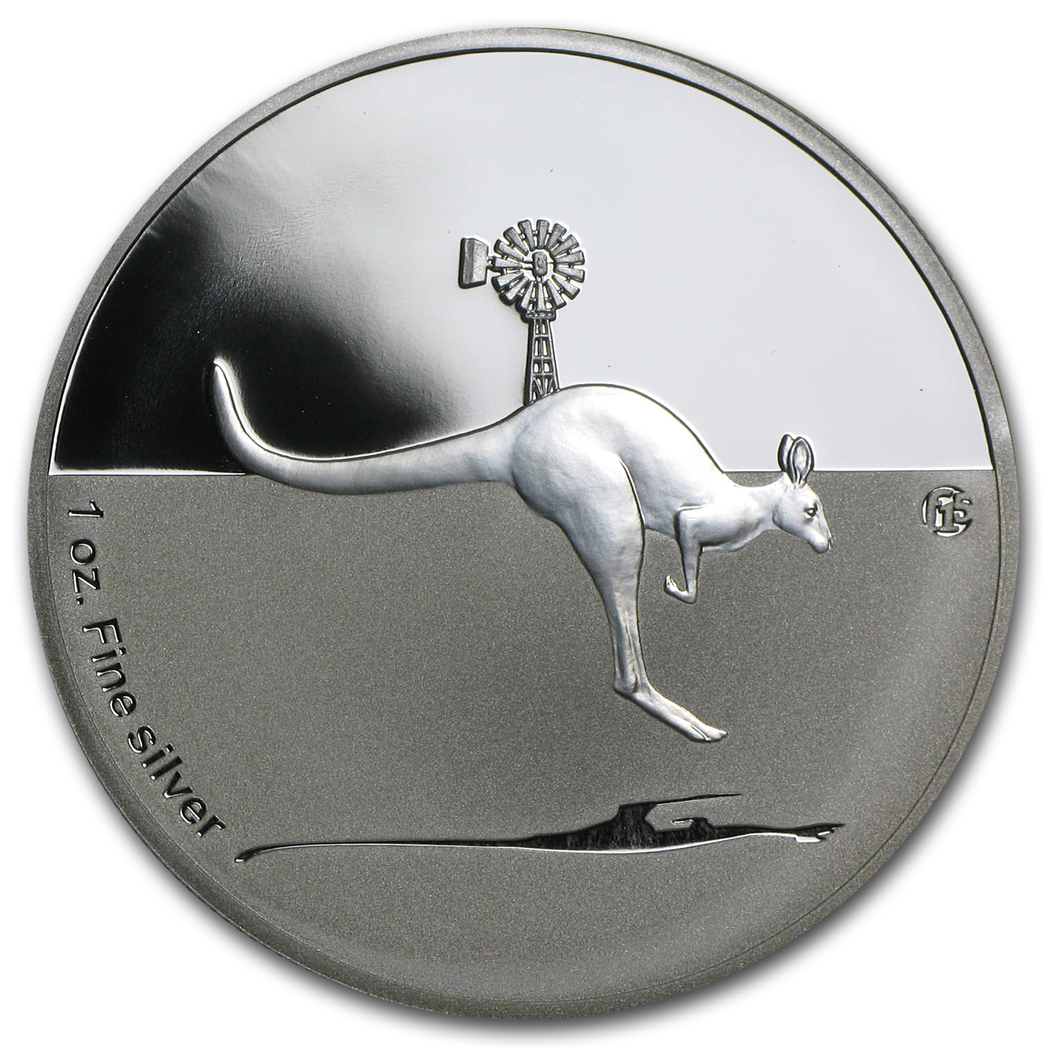 2013 Australia 1 oz Proof Silver Kangaroo in Outback (F15 Privy)