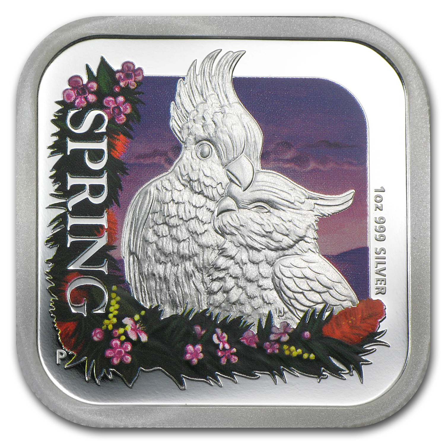2013 Australia 1 oz Silver Seasons Spring Proof