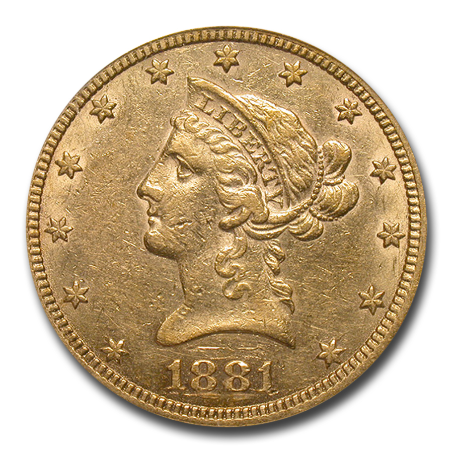 1881-CC $10 Liberty Gold Eagle XF-40 PCGS