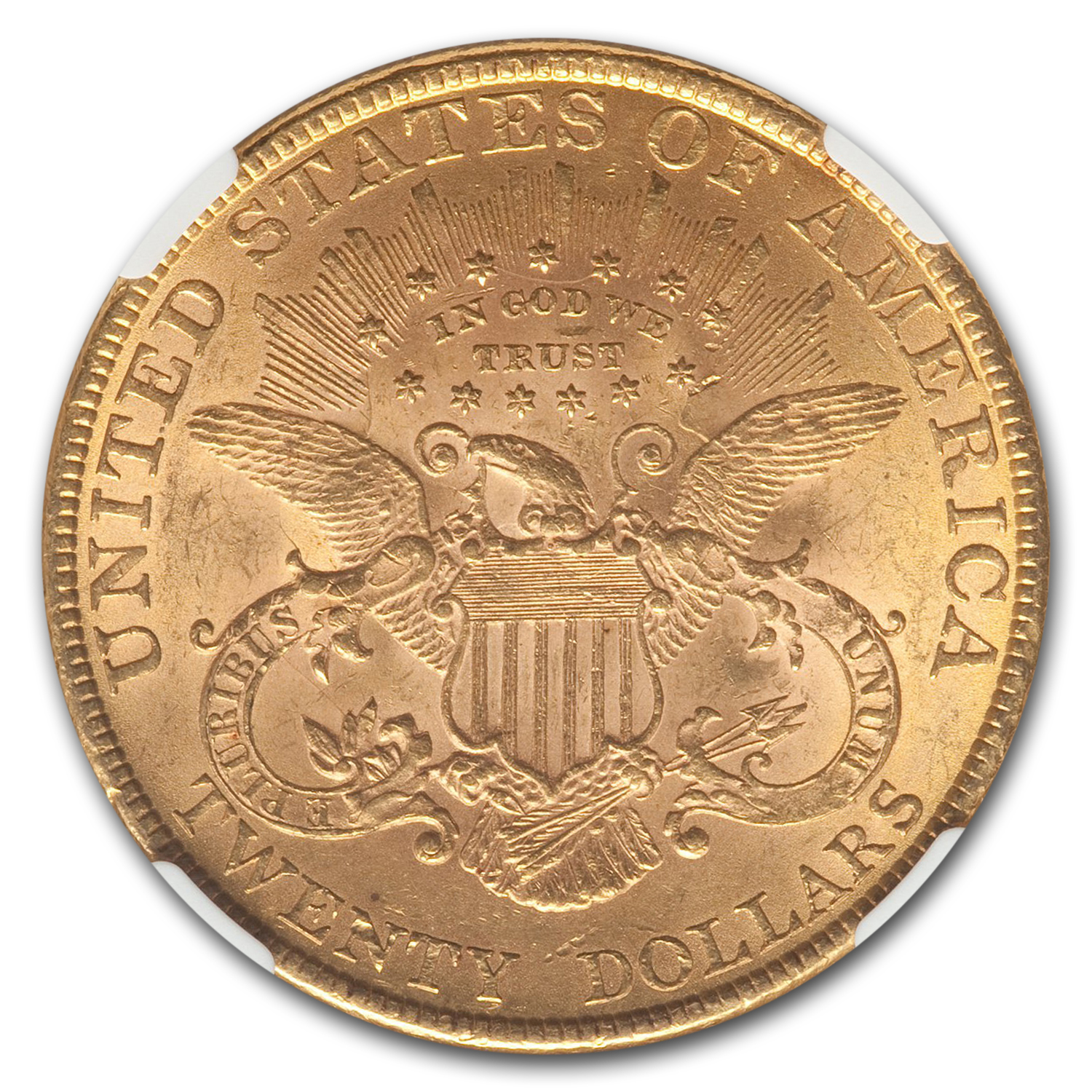 1889 $20 Gold Liberty Double Eagle - MS-61 NGC