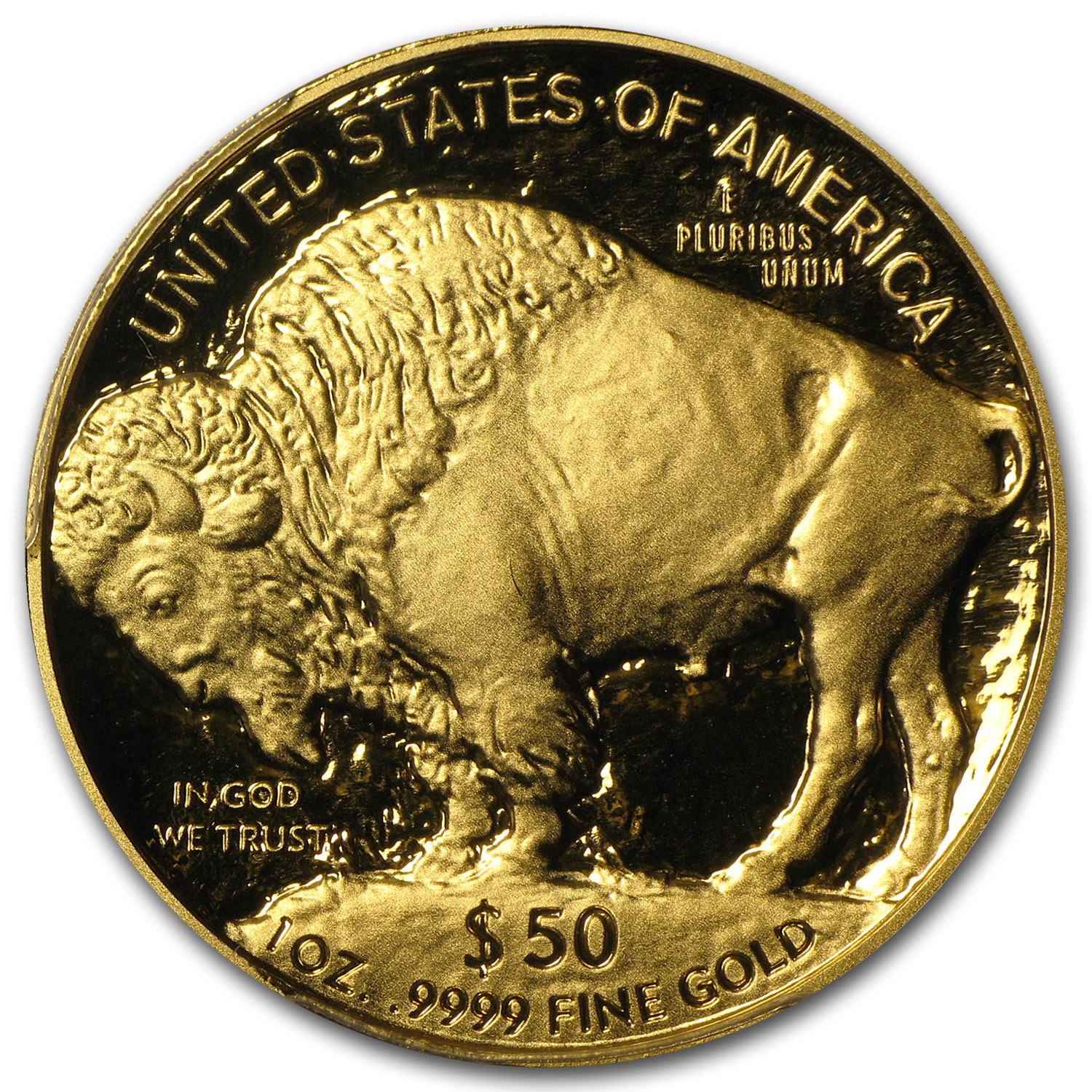 2006-W 1 oz Proof Gold Buffalo PR-70 PCGS FS (Black Diamond)
