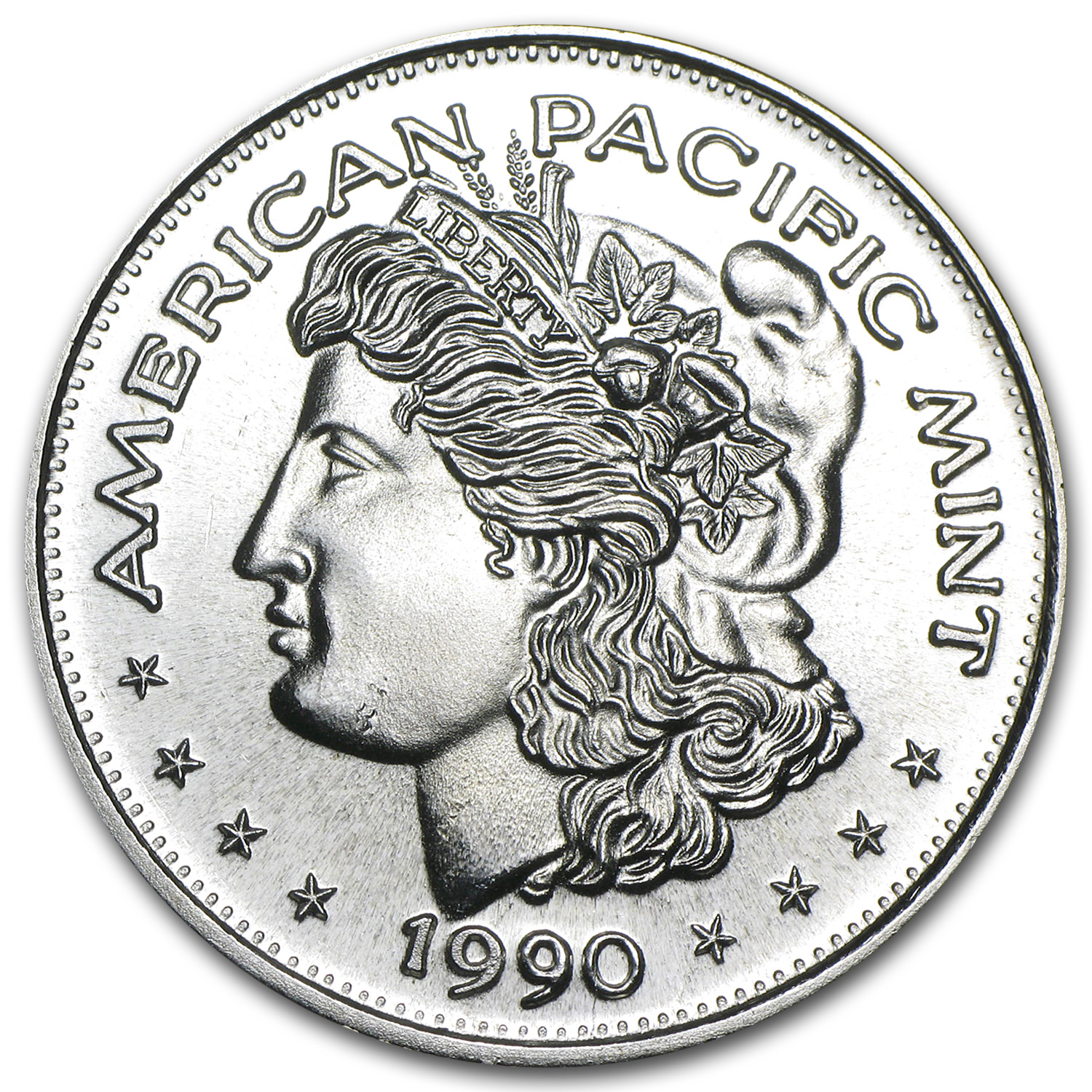 1 oz Silver Round - American Pacific Mint (Morgan)
