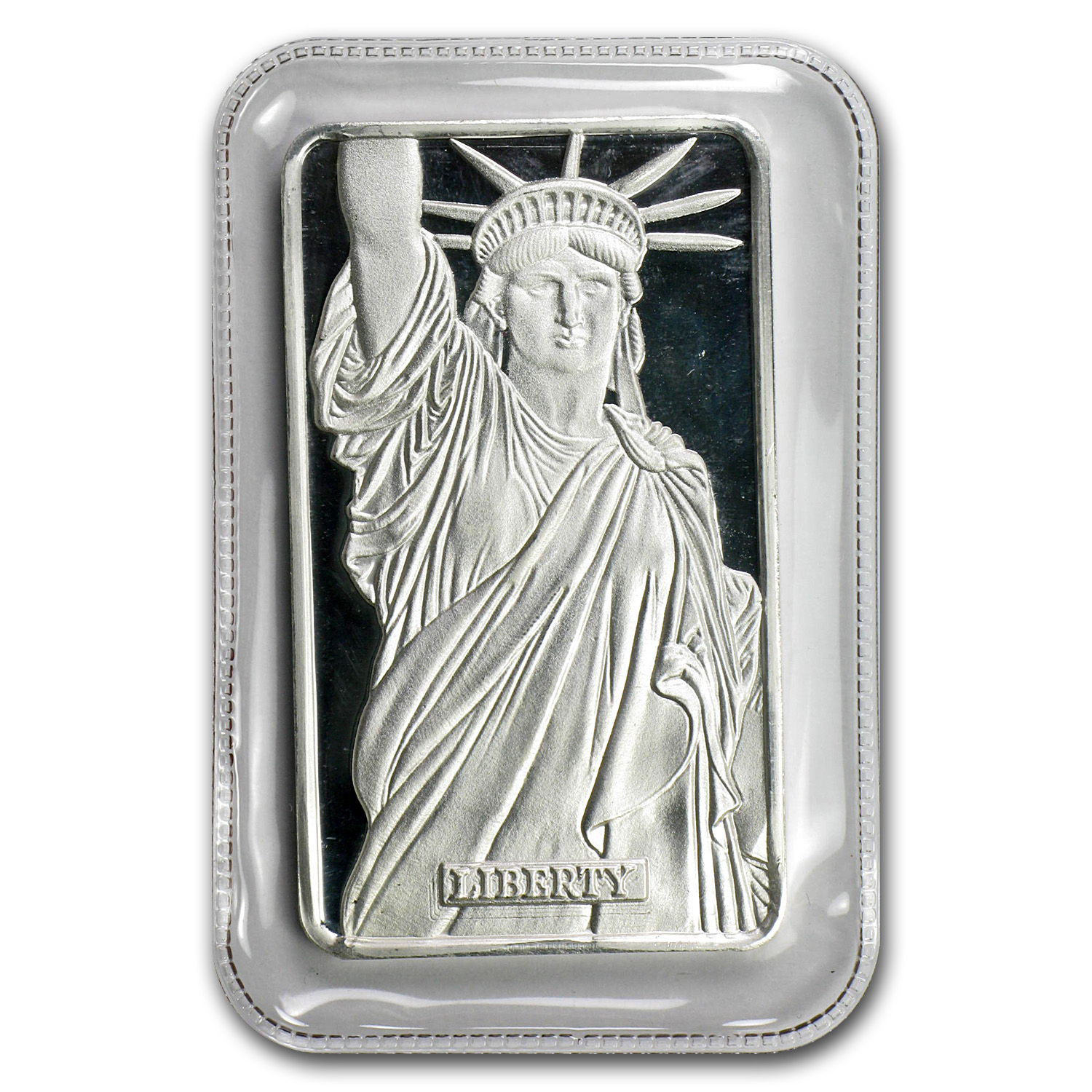 1 oz Silver Bars - Statue of Liberty (MTB/Sealed/COA)