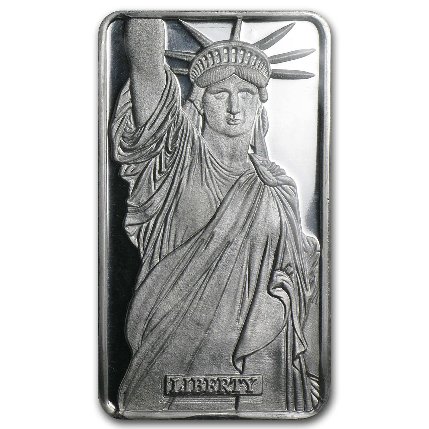 1 oz Silver Bar - Statue of Liberty (MTB/Sealed/COA)