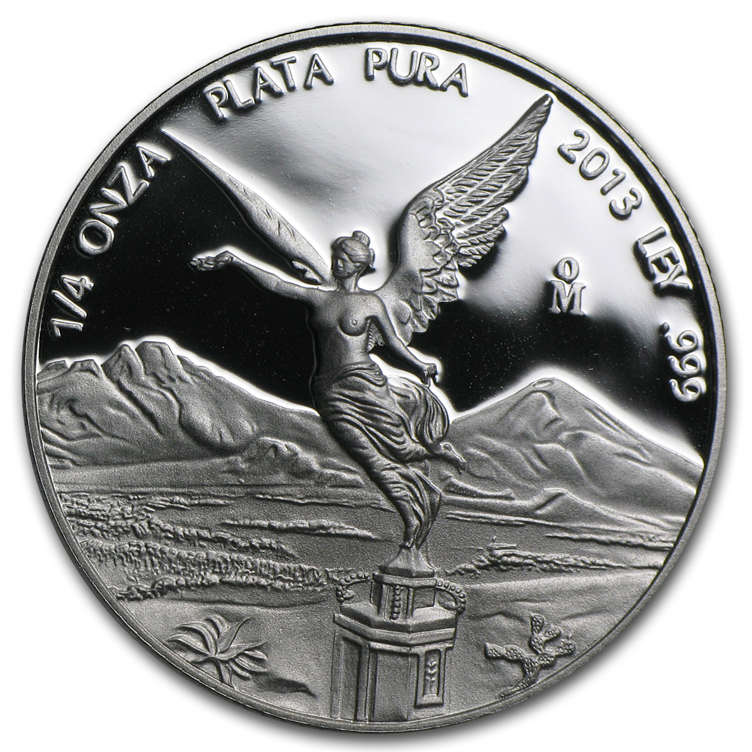 2013 Mexico 1/4 oz Silver Libertad Proof (In Capsule)