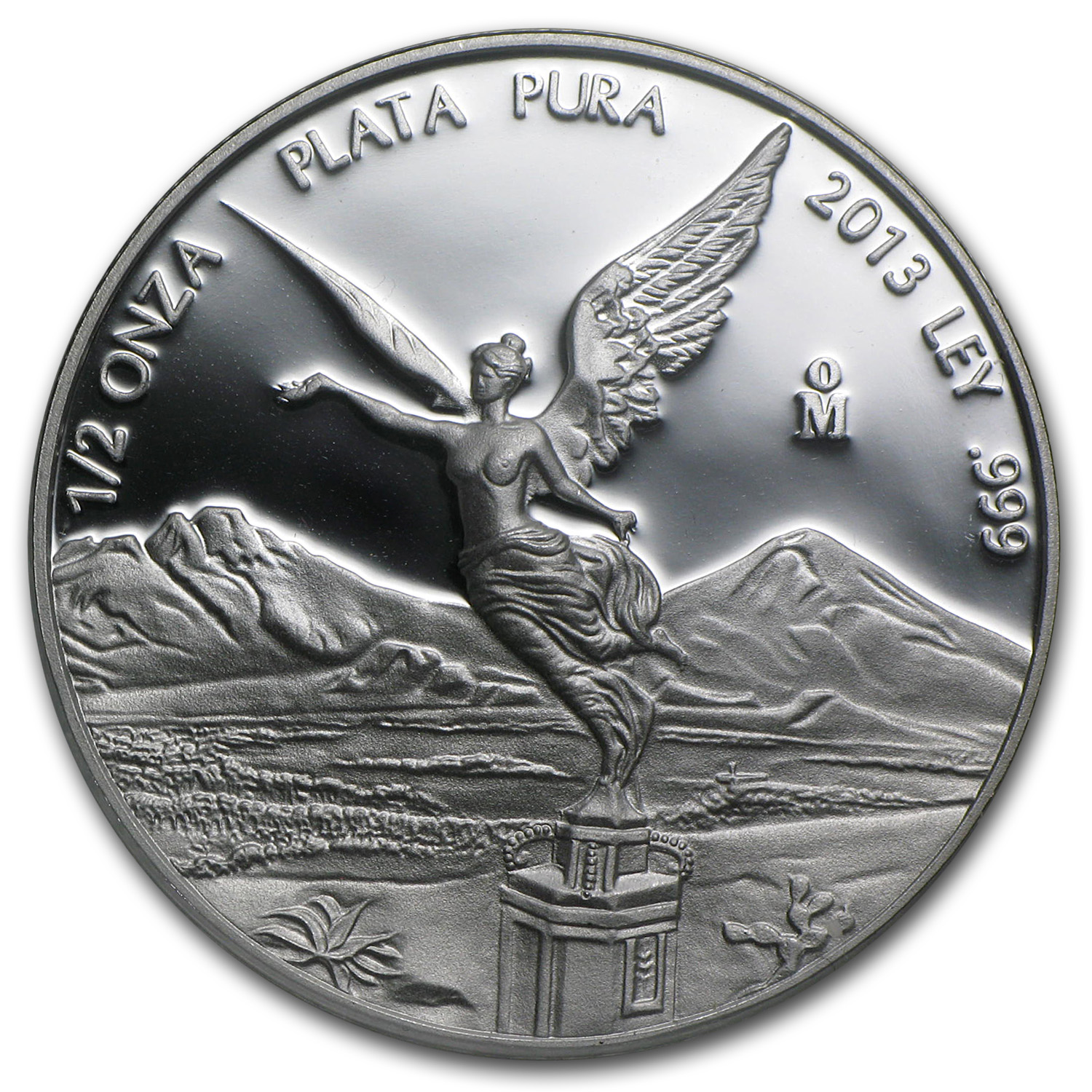 2013 1/2 oz Silver Mexican Libertad - Proof (In Capsule)