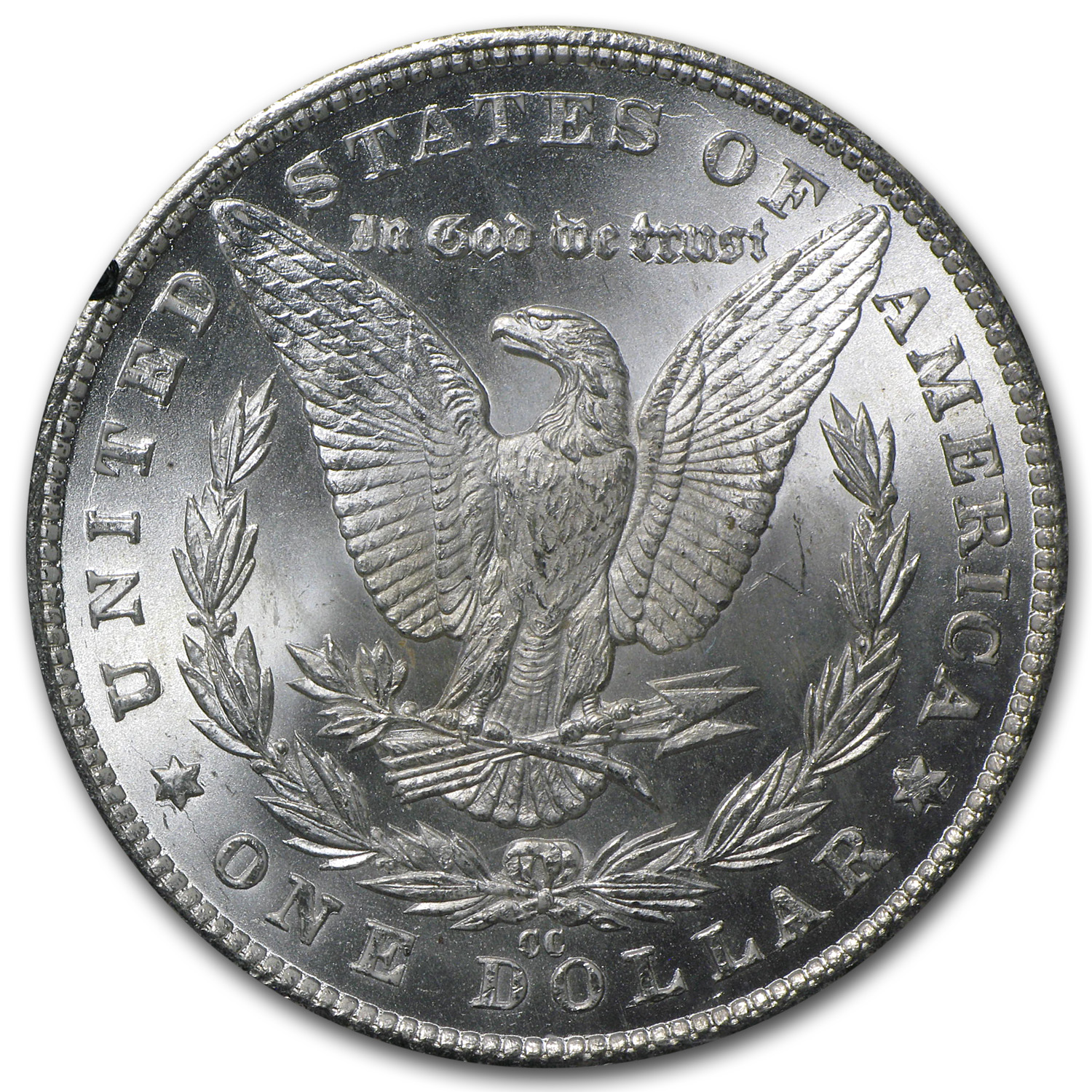 1881-CC Morgan Dollar MS-63 PCGS (GSA Certified)