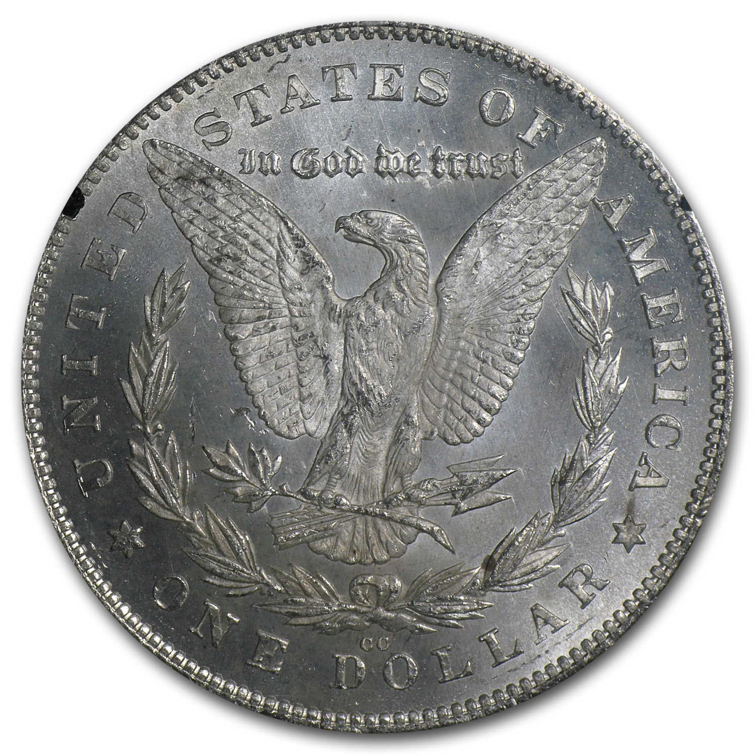 1880/79-CC Morgan Dollar Rev of 78 MS-62 PCGS (GSA)
