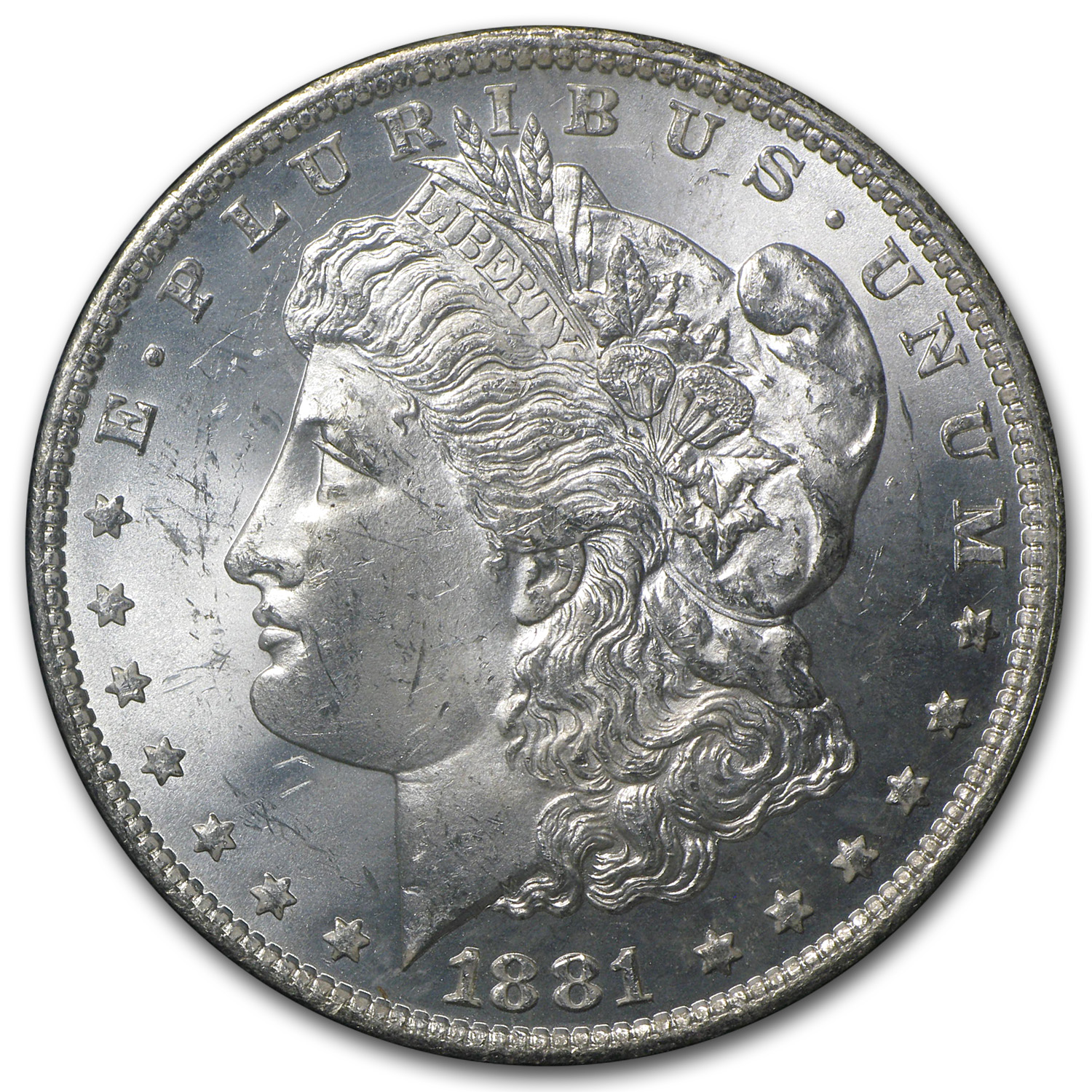 1881-O Morgan Dollar MS-63 PCGS (GSA)