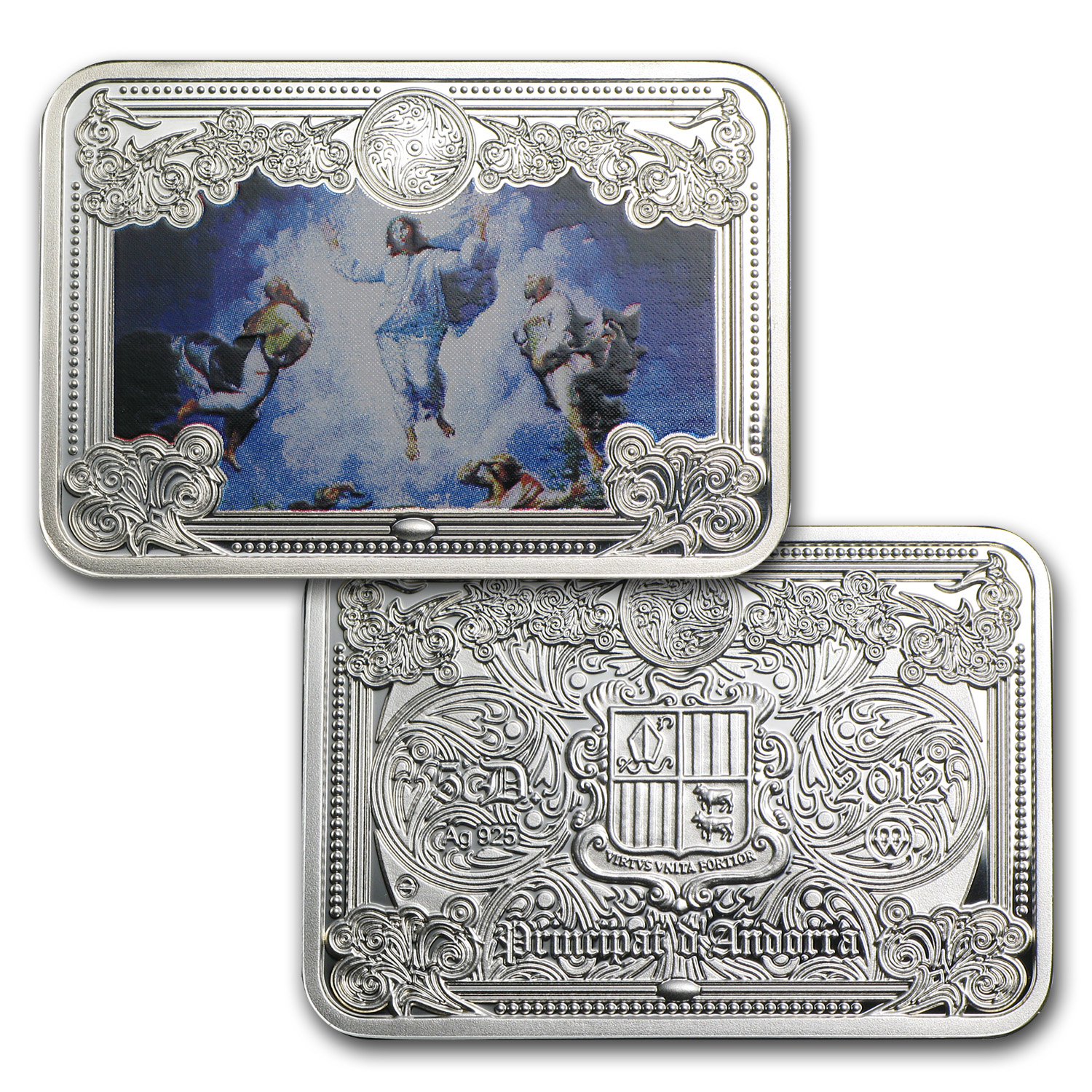 Andorra Proof Silver The Wonders of Jesus Christ Series - 8 Coins