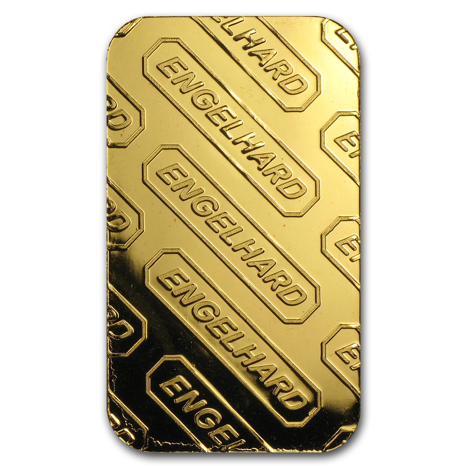 1 oz Gold Bars - Engelhard ('E' logo, w/o Assay)