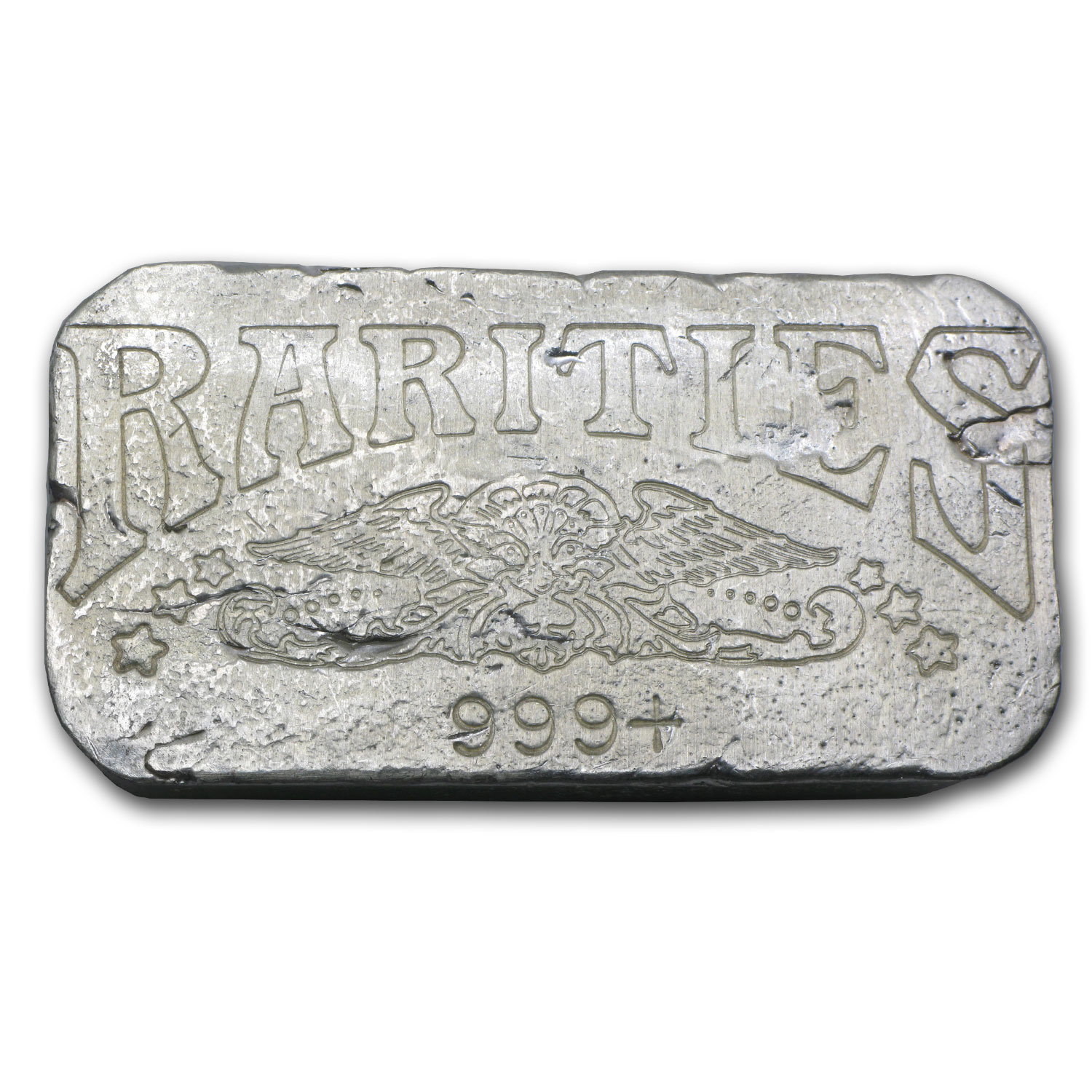 10 oz Silver Bar - Rarities Mint Cast Ingot