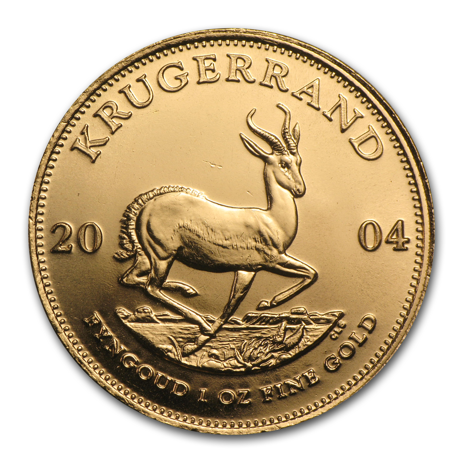 2004 South Africa 1 oz Gold Krugerrand