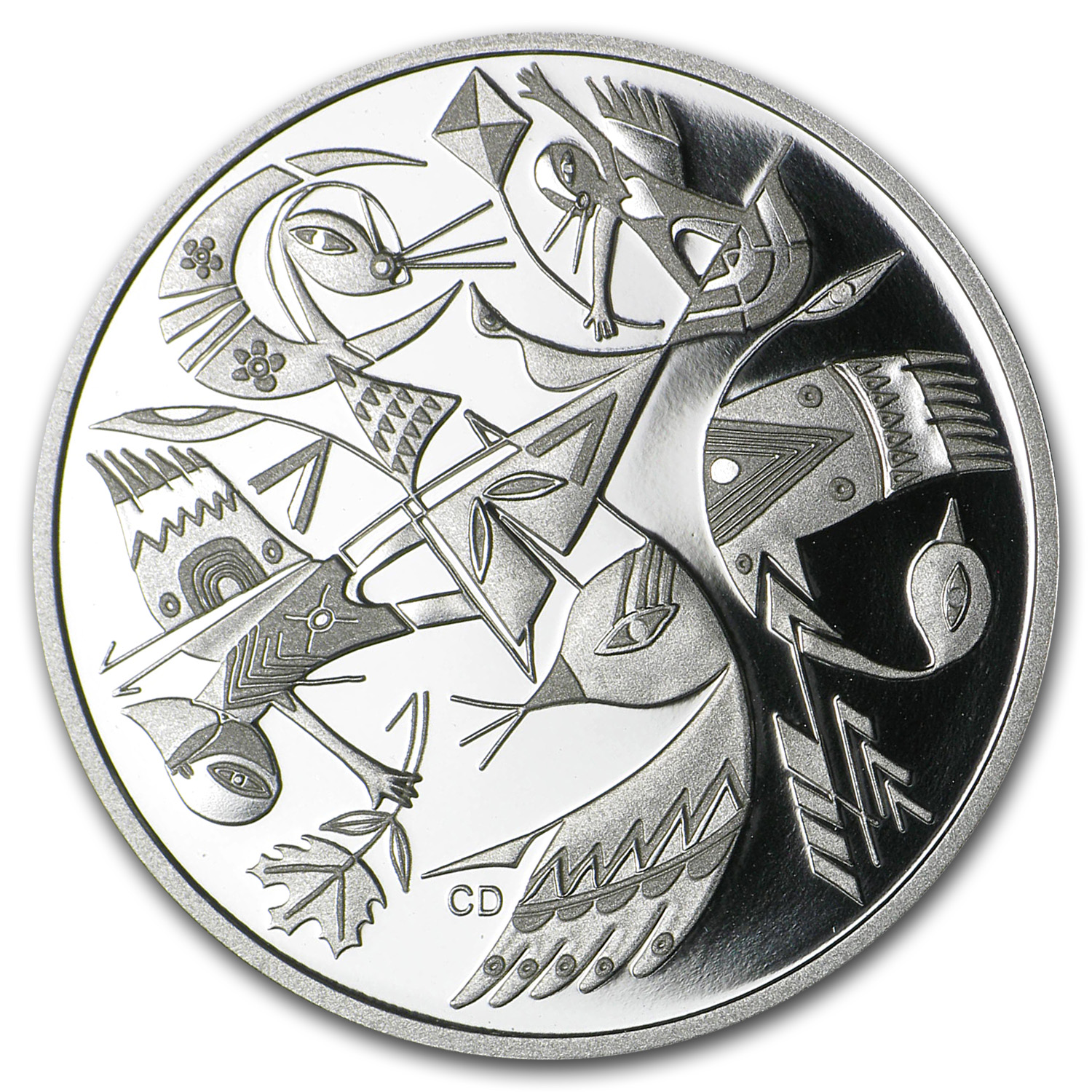 2013 1 oz Silver Canadian $20 Canadian Contemporary Art