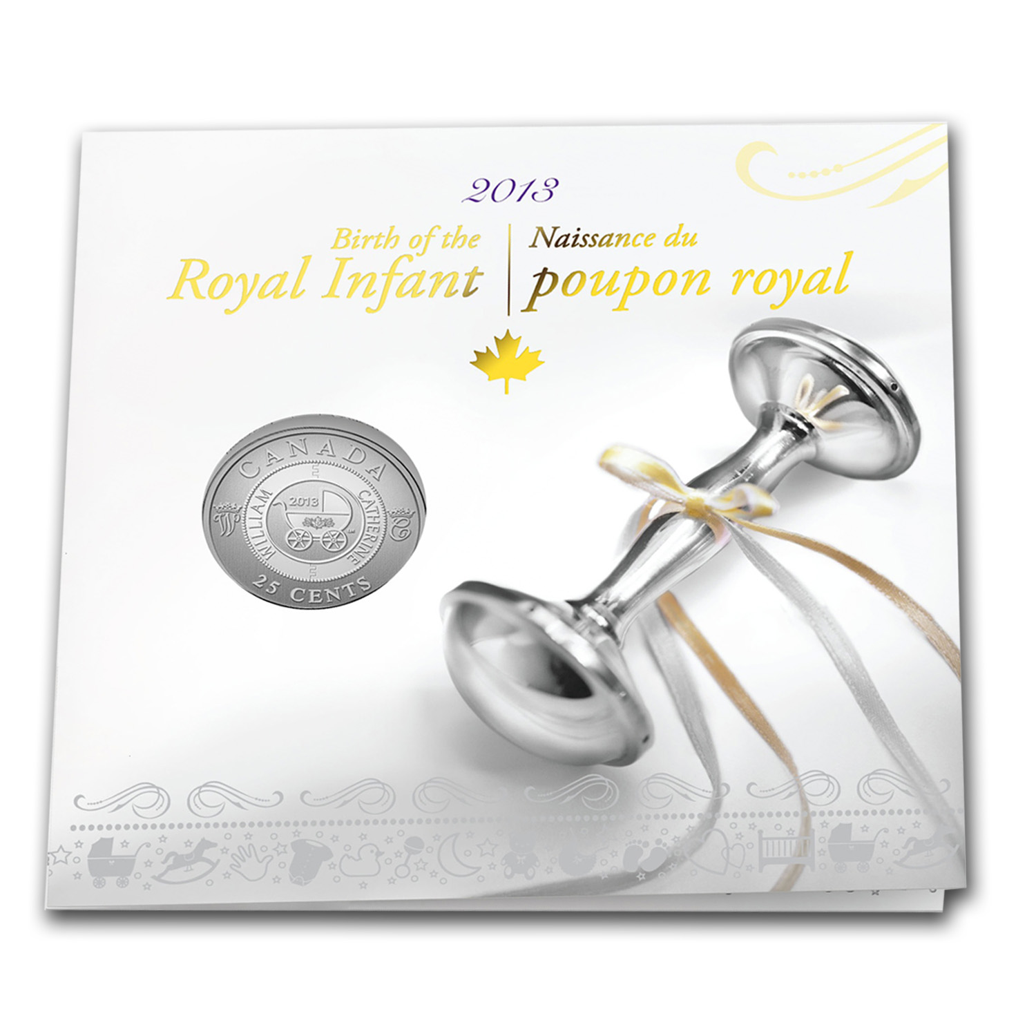 2013 Canadian $0.25 Royal Infant Carriage