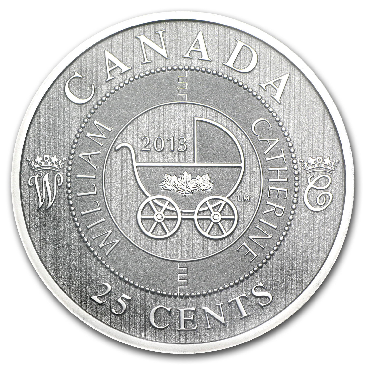 2013 Canada $0.25 Royal Infant Carriage