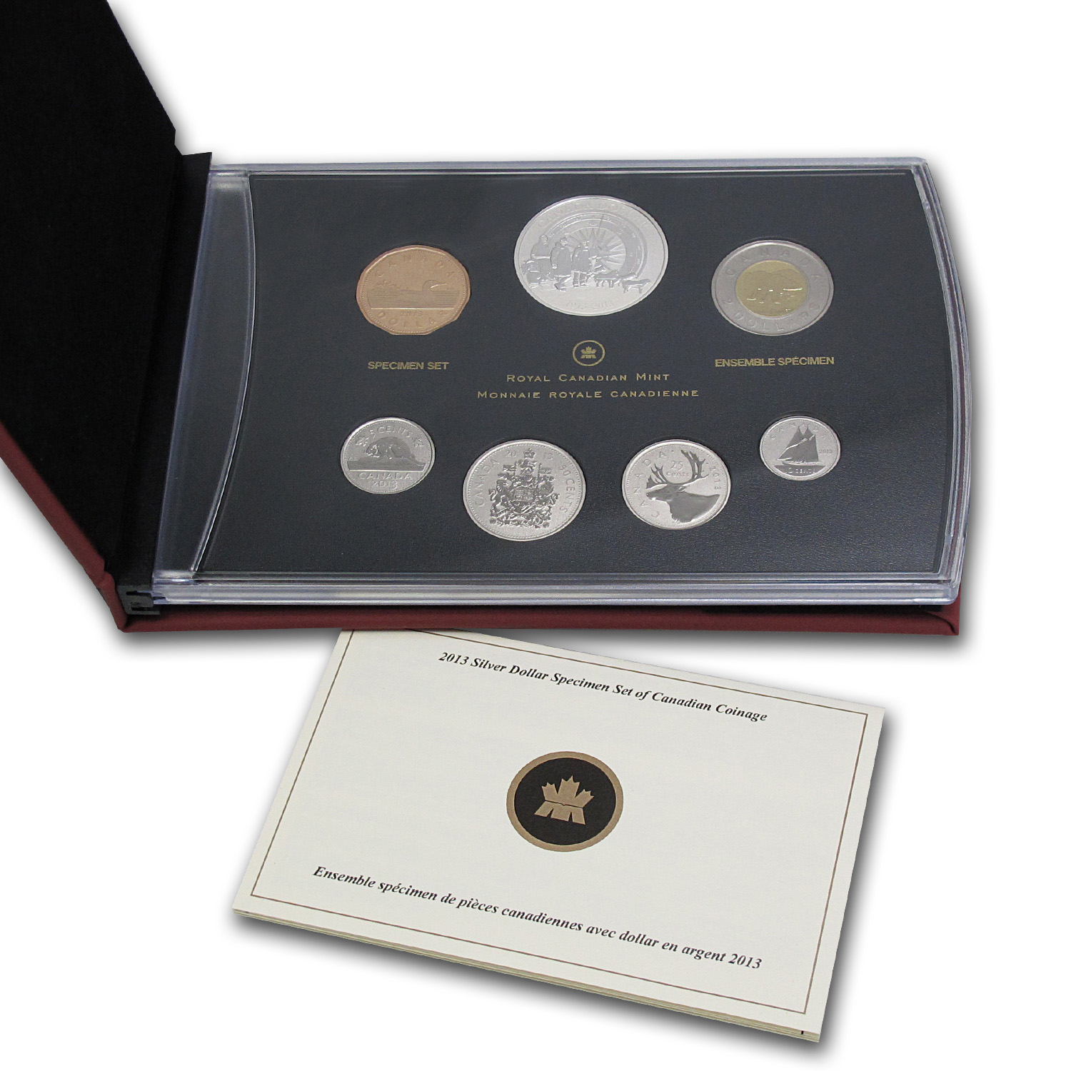 2013 7-Coin Silver Dollar Spec Set 100th Ann of Arctic Expedition