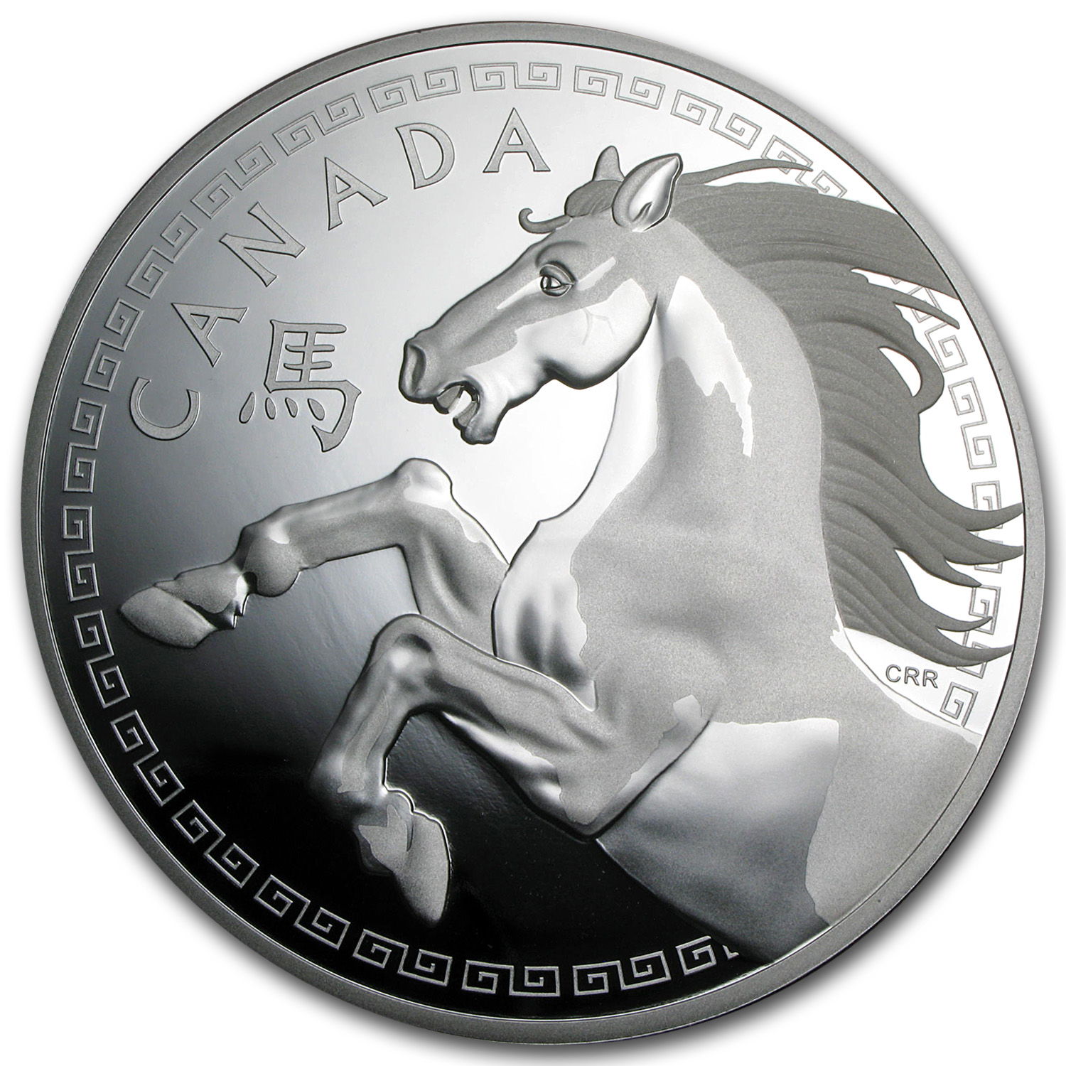 2014 1 Kilo Silver Canadian $250 Lunar Year of the Horse