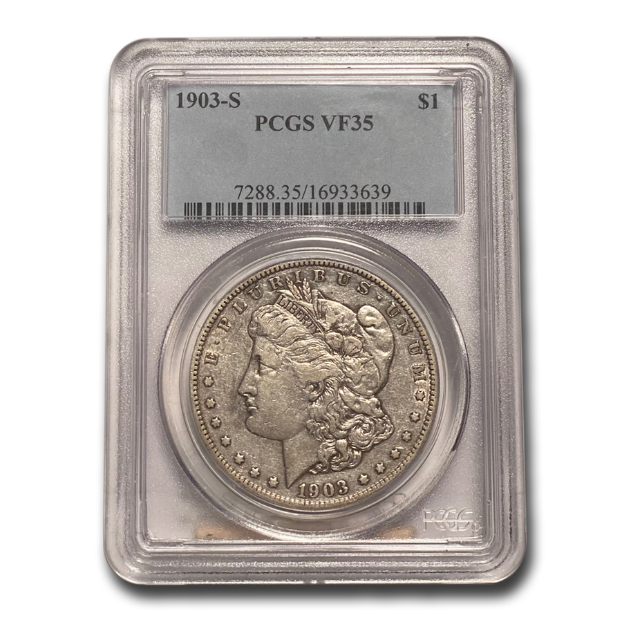 1903-S Morgan Dollar VF-35 PCGS