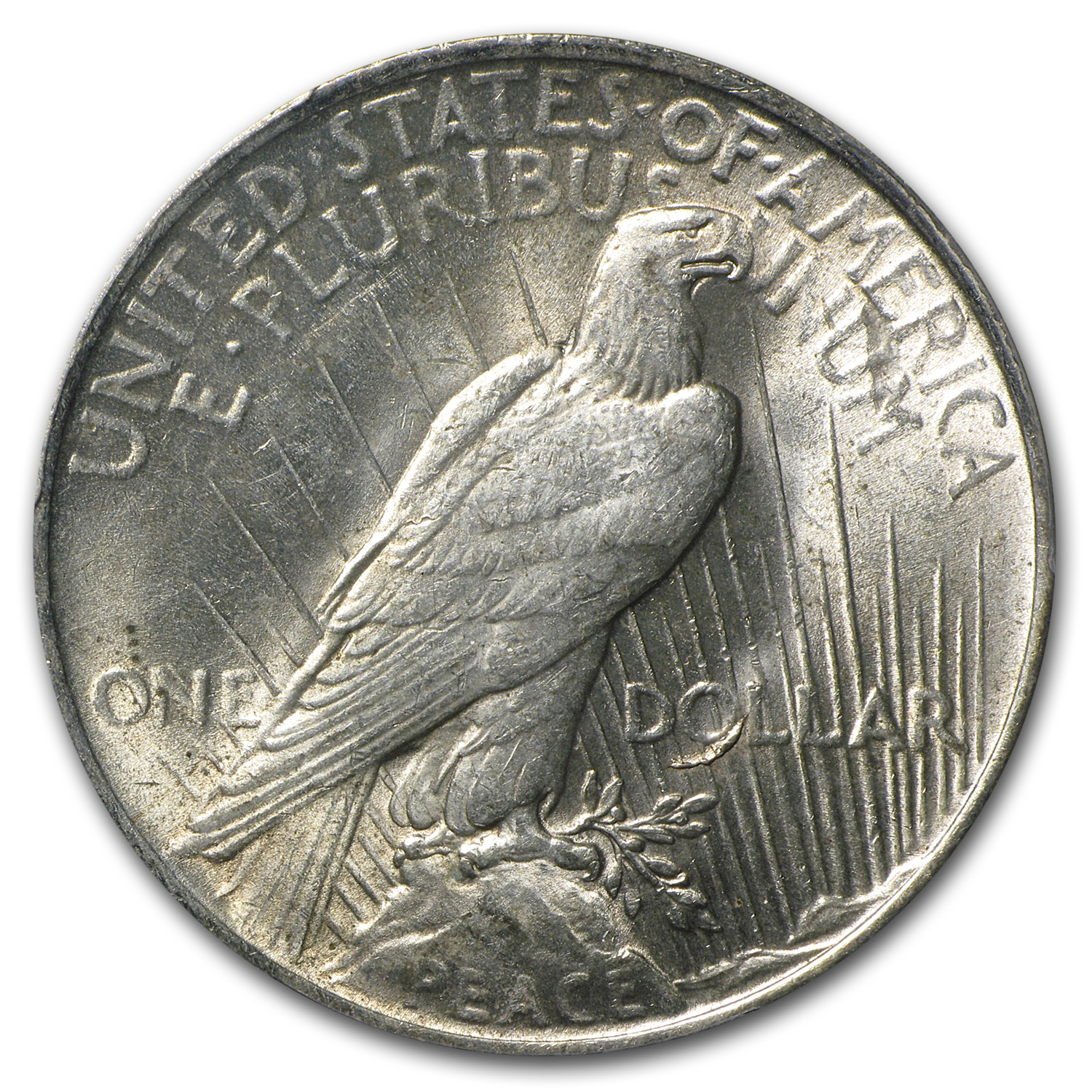 1923 Peace Dollar AU-58 PCGS VAM-1C Tail On O LDS Top-50