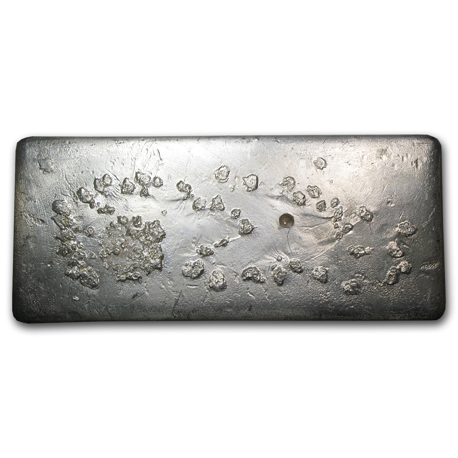 91.30 oz Silver Bars - New York Assay Office (1980)