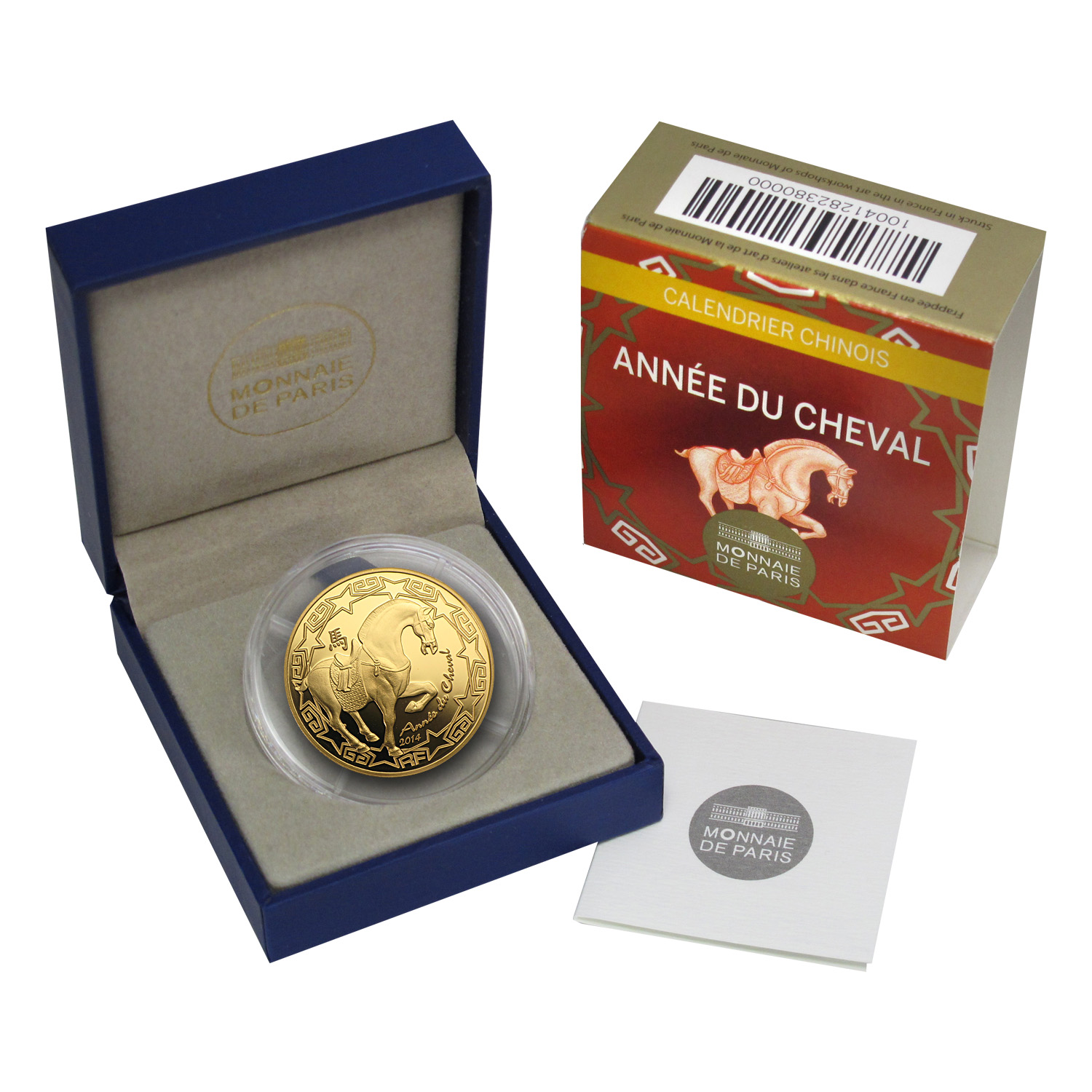 2014 1/4 oz Gold Proof Year of the Horse (€50) - Lunar Series