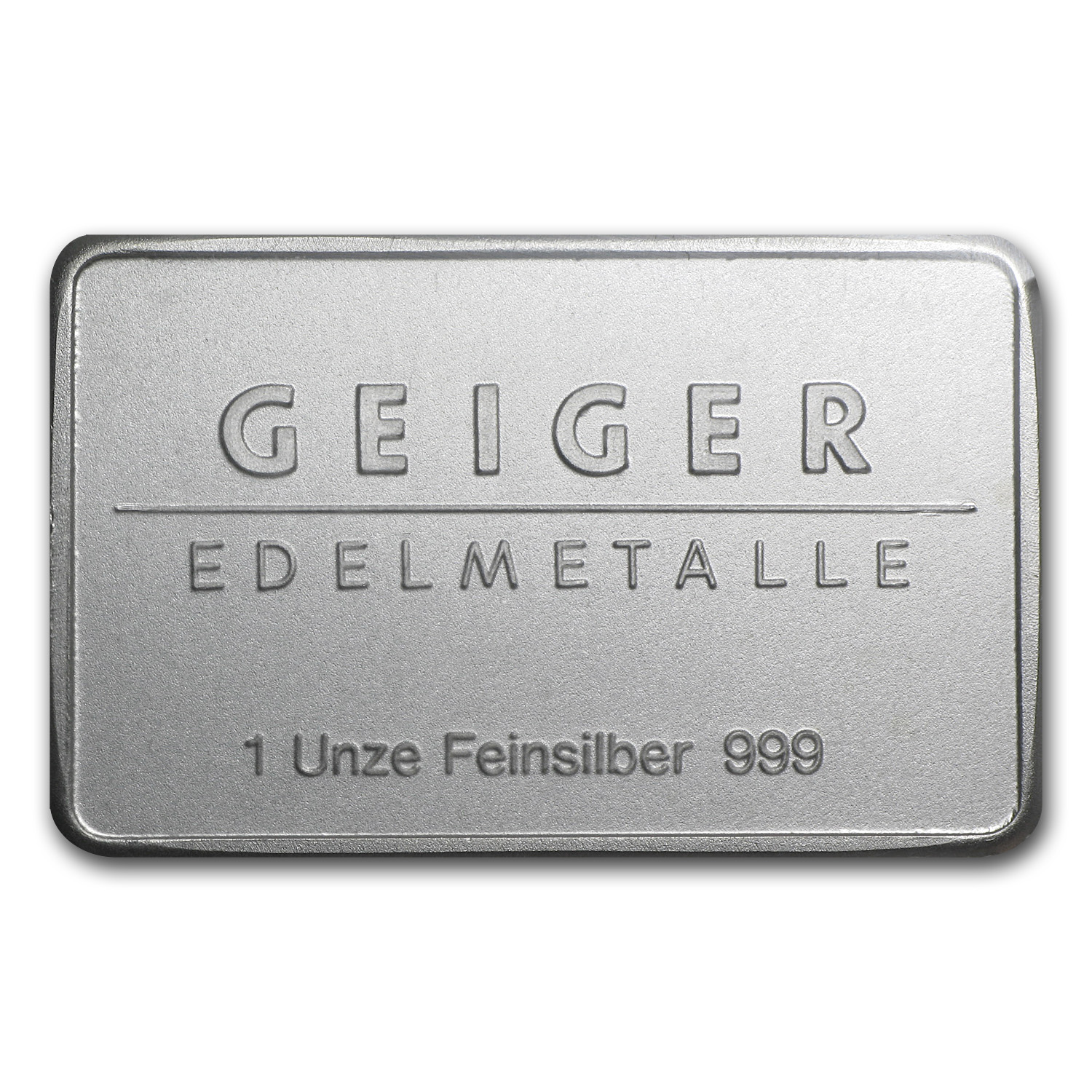 1 oz Silver Bars - Geiger (Security Line Series)