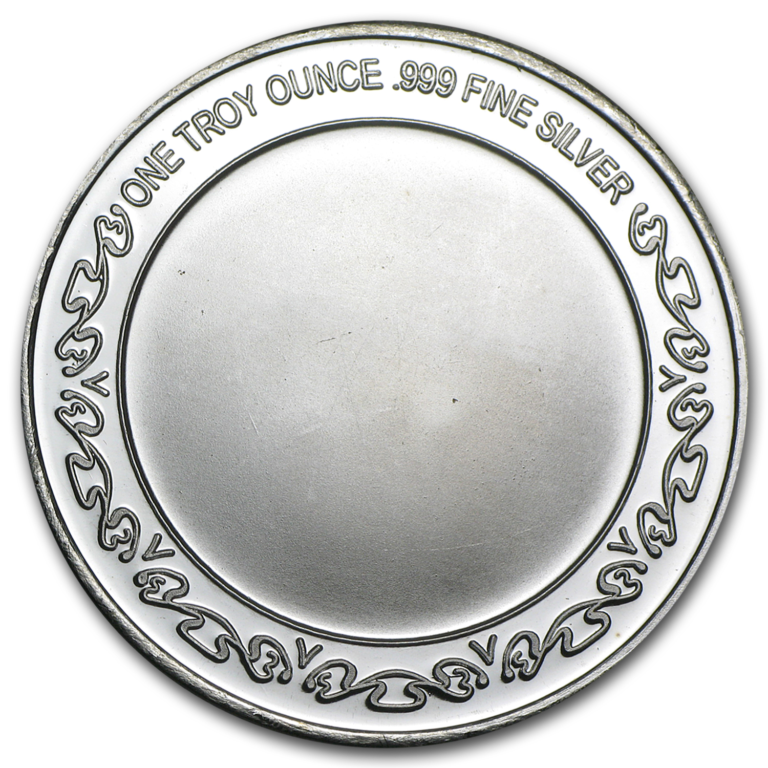 1 oz Religious Cross Silver Round (w/ Red Pouch & Cap)
