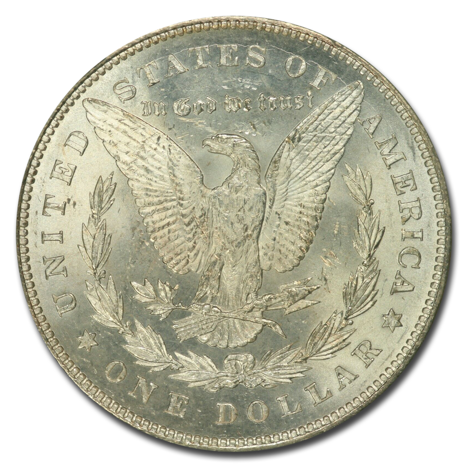 1878 Morgan Dollar 7 TF Rev of 78 MS-64+ Plus PCGS