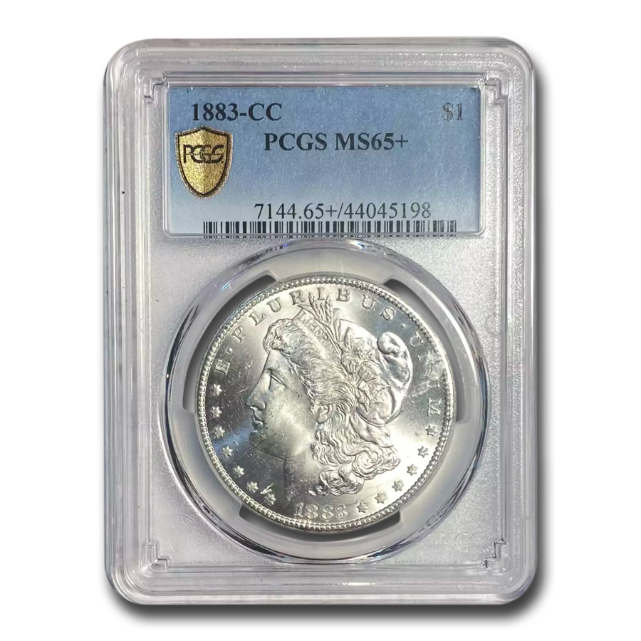 1883-CC Morgan Dollar MS-65+ PCGS