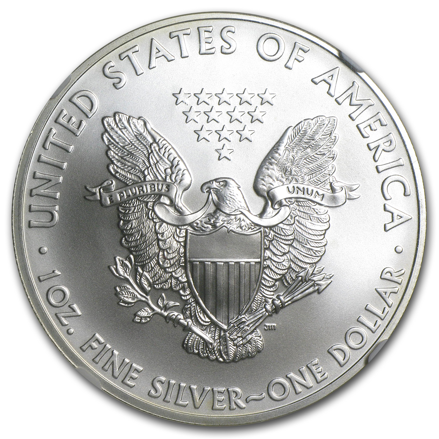 2012 Silver American Eagle MS-70 NGC (1st Release, Eagle Label)