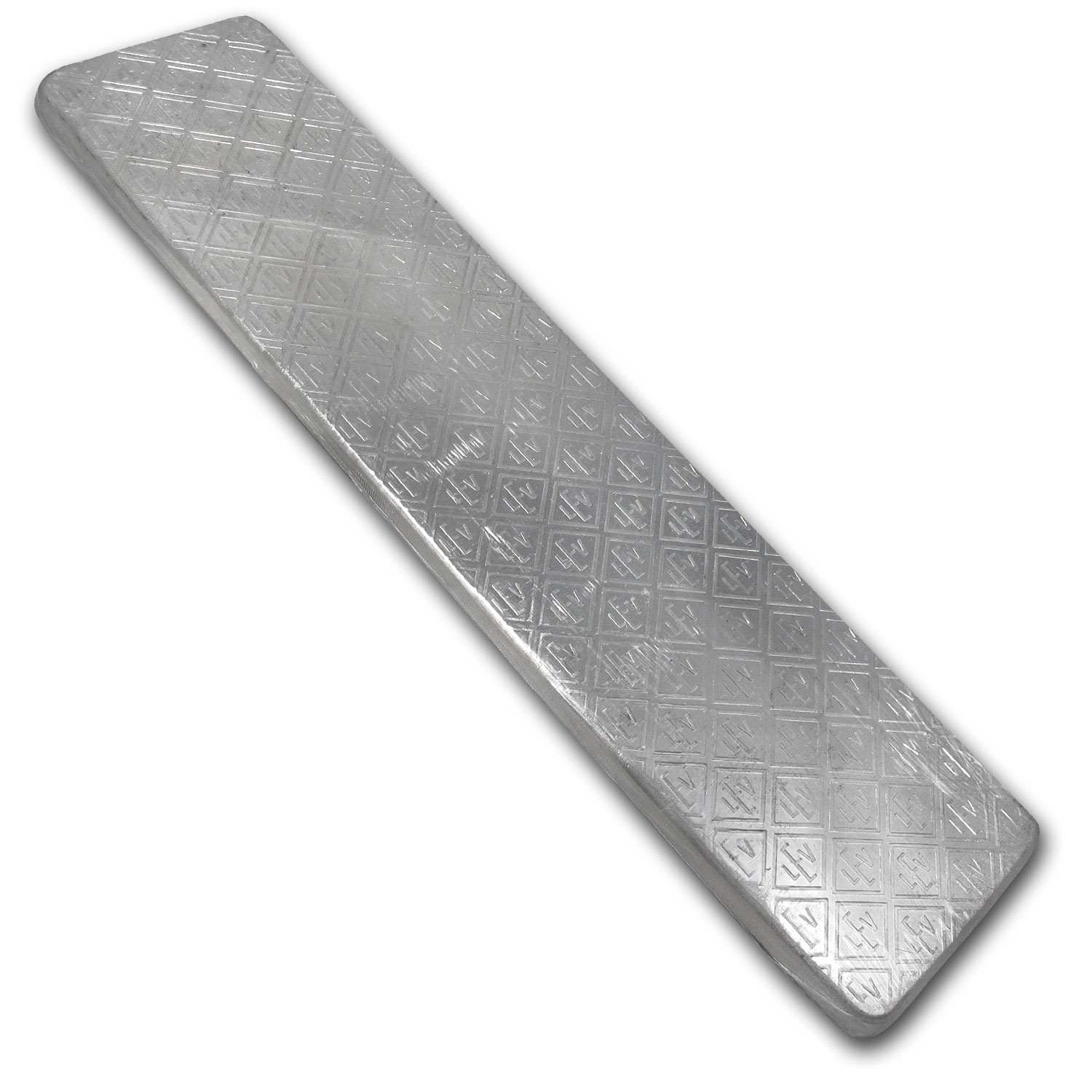 100 oz Silver Bar - Geiger (1st Gen Design, Security Line Series)