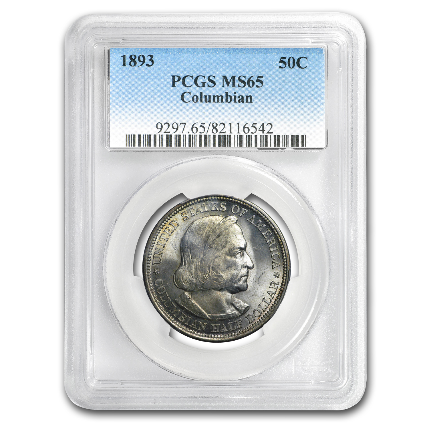 1893 Columbian Expo Half Dollar MS-65 PCGS